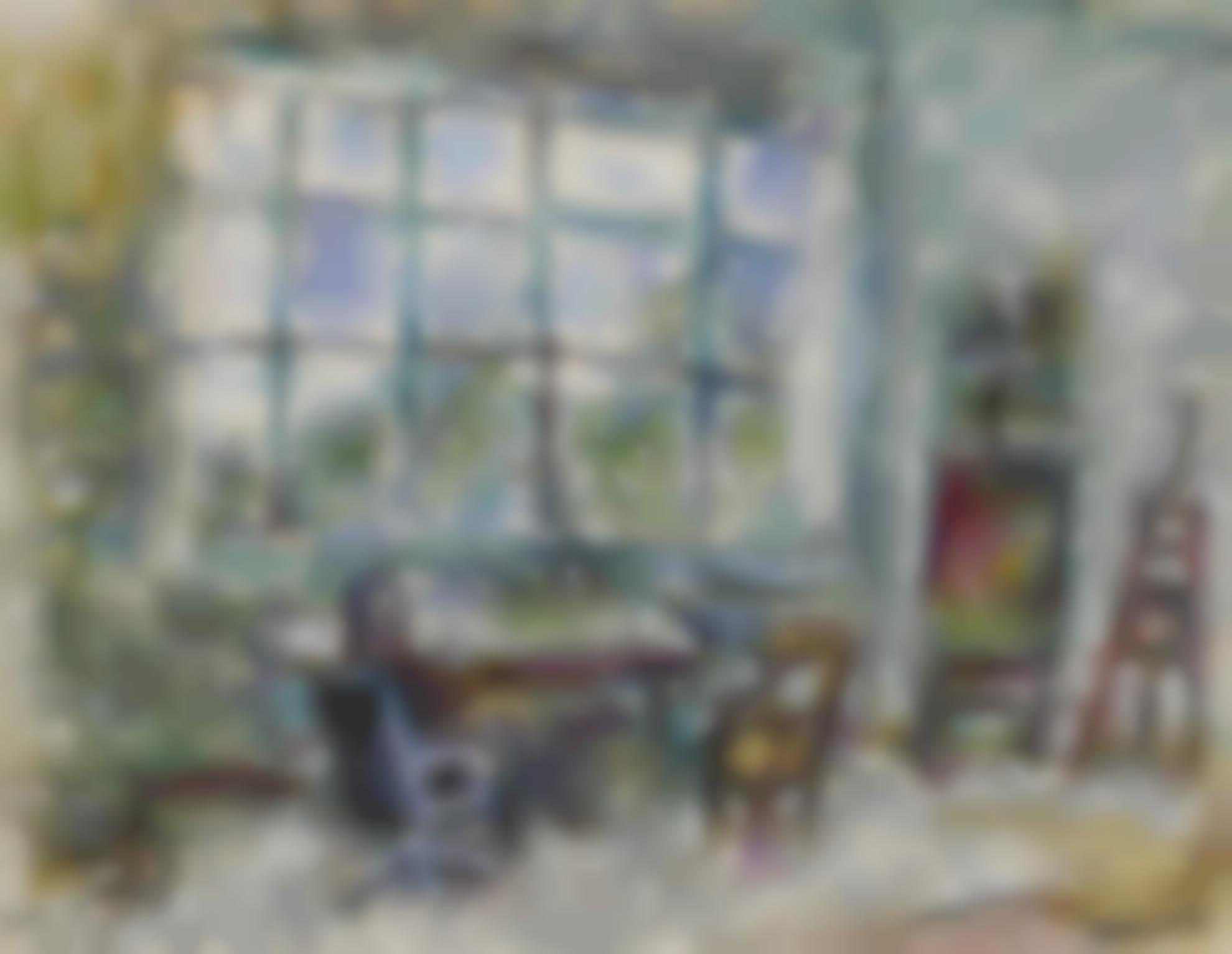 Marc Chagall-Dans Latelier-1980