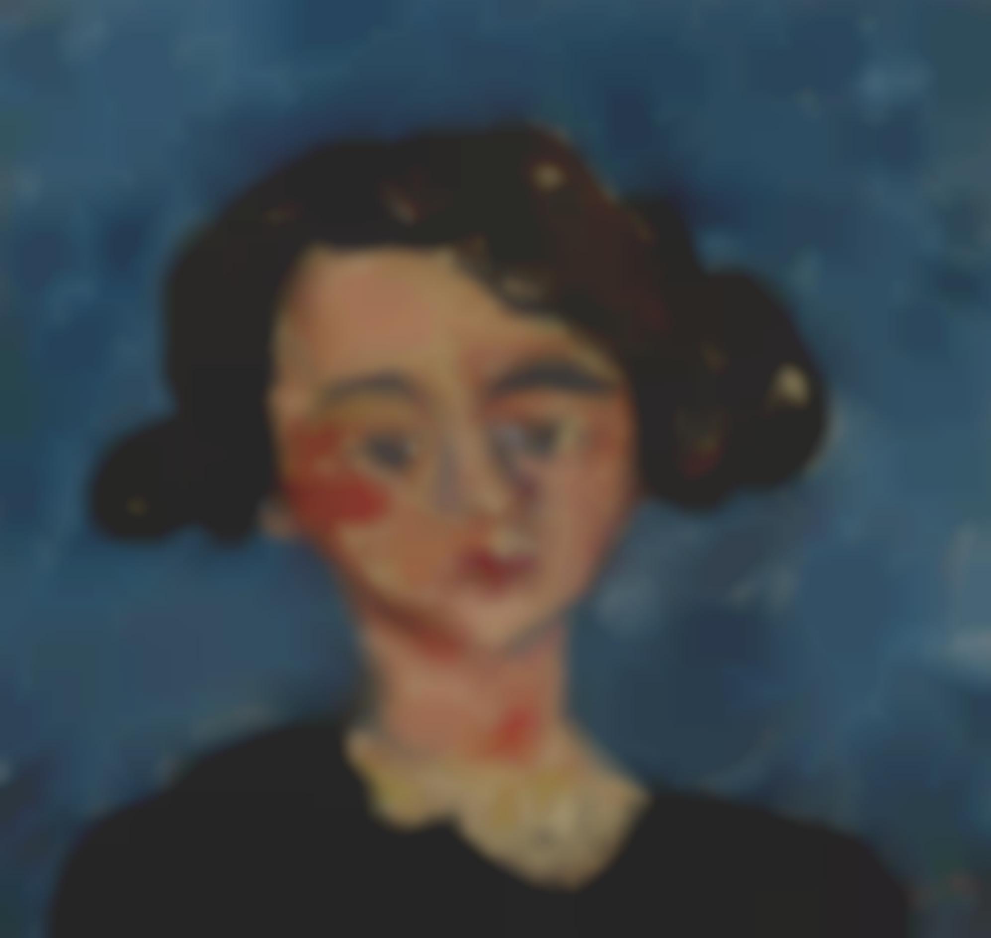 Chaim Soutine-Portrait De Jeune Fille (Paulette Jourdain)-1928