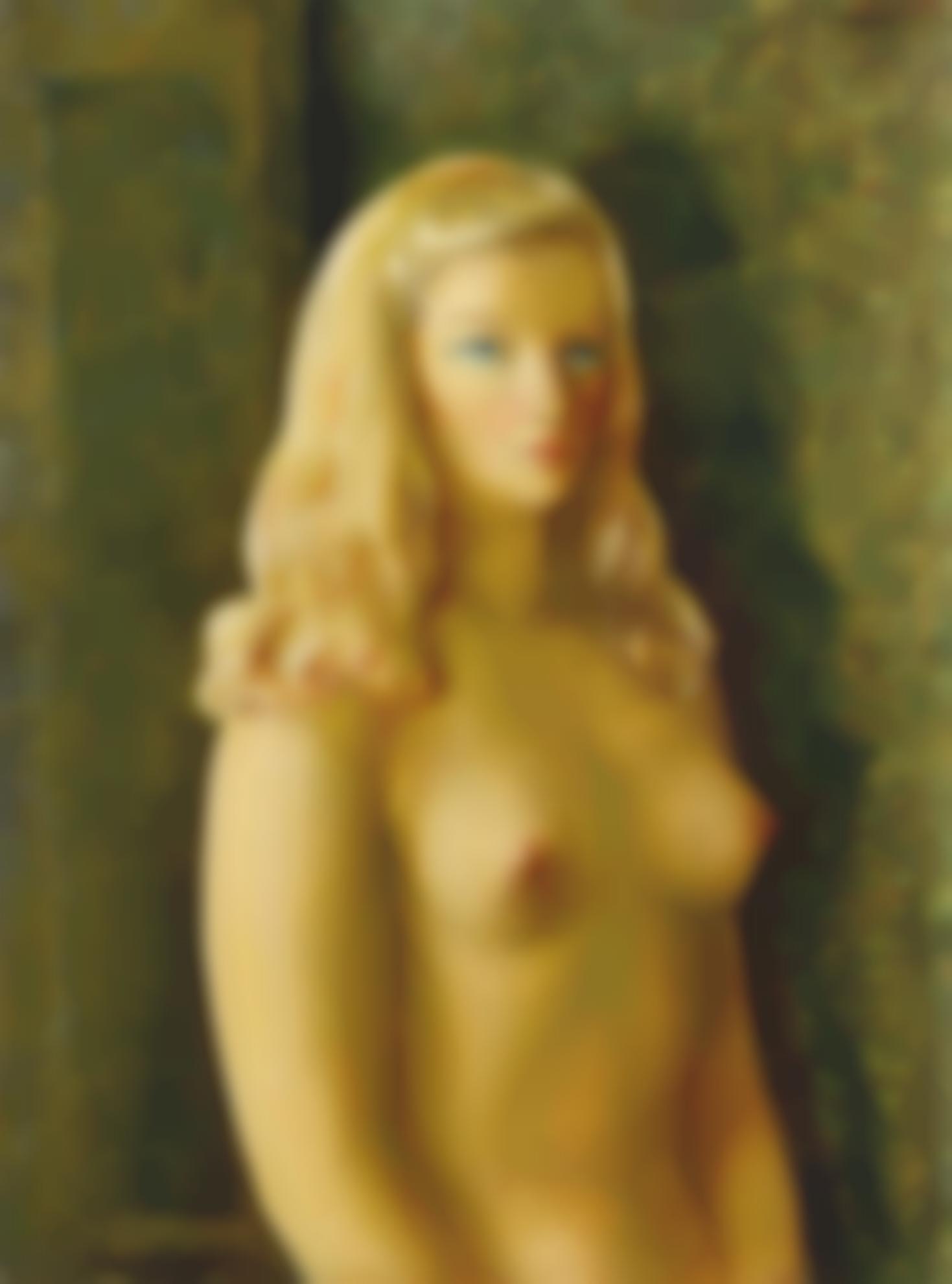 Moise Kisling-Jeune Femme Nue Aux Cheveux Blonds-1942