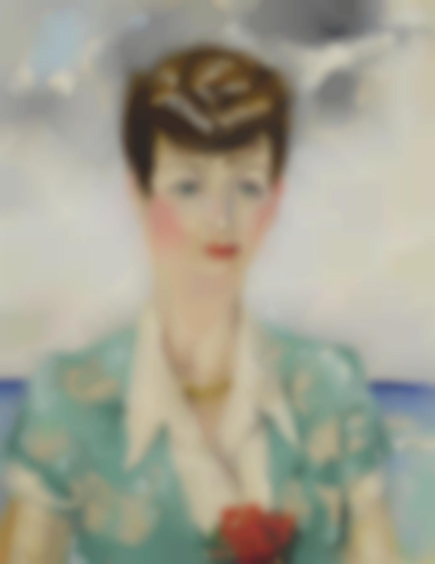 Kees van Dongen-Portrait De La Comtesse Anatole De Bremond Dars-1947