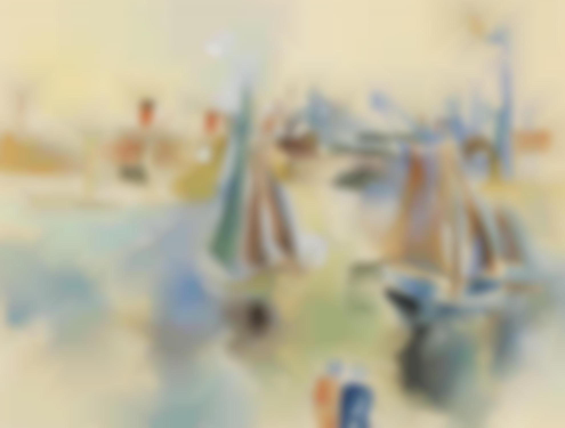 Jean Dufy-Le Bassin De La Manche Au Havre-