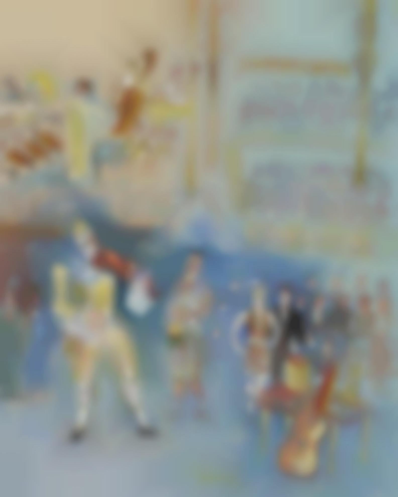Jean Dufy-Clowns Musiciens-1940