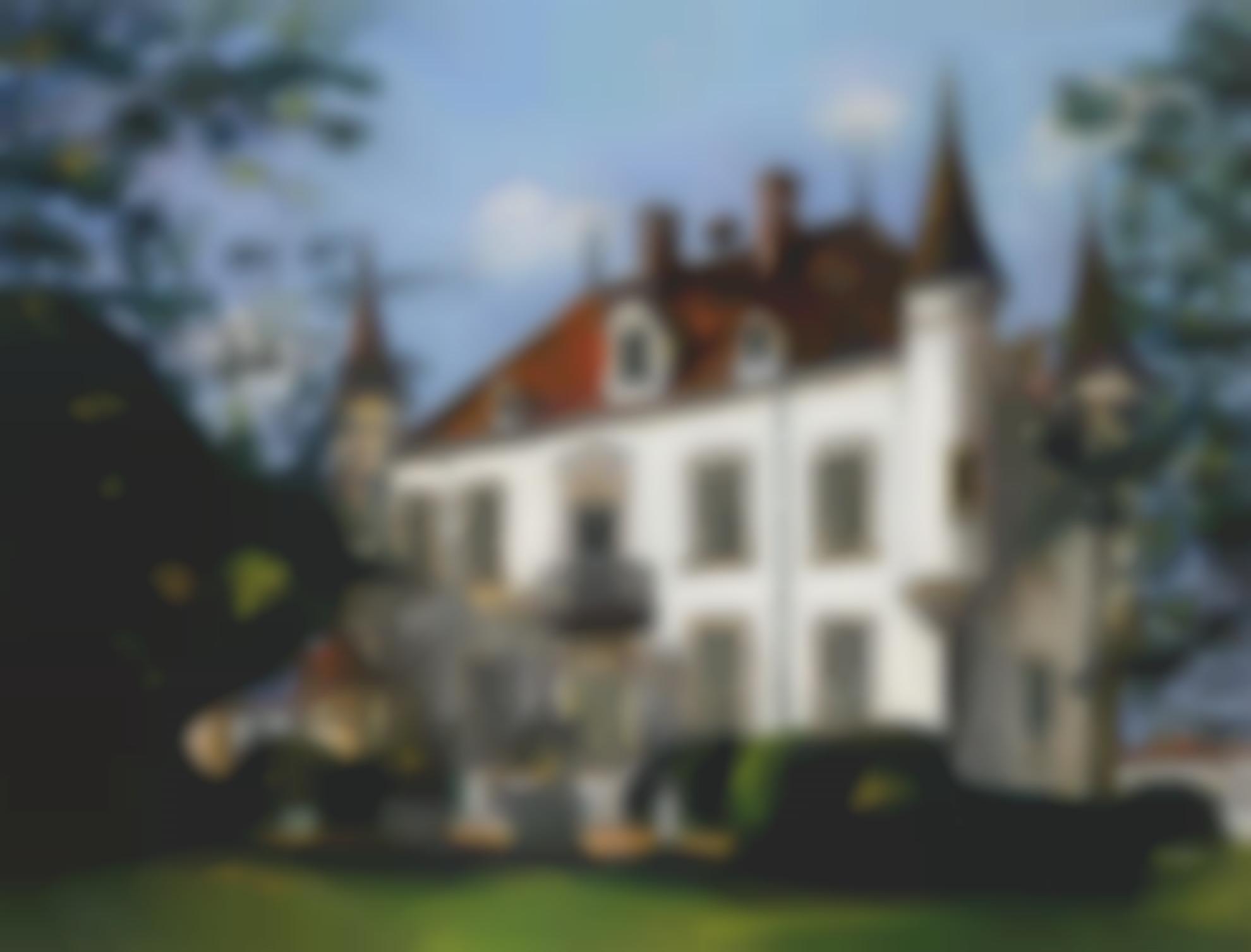 Maurice Utrillo-Le Chateau Aux Poivrieres-1923