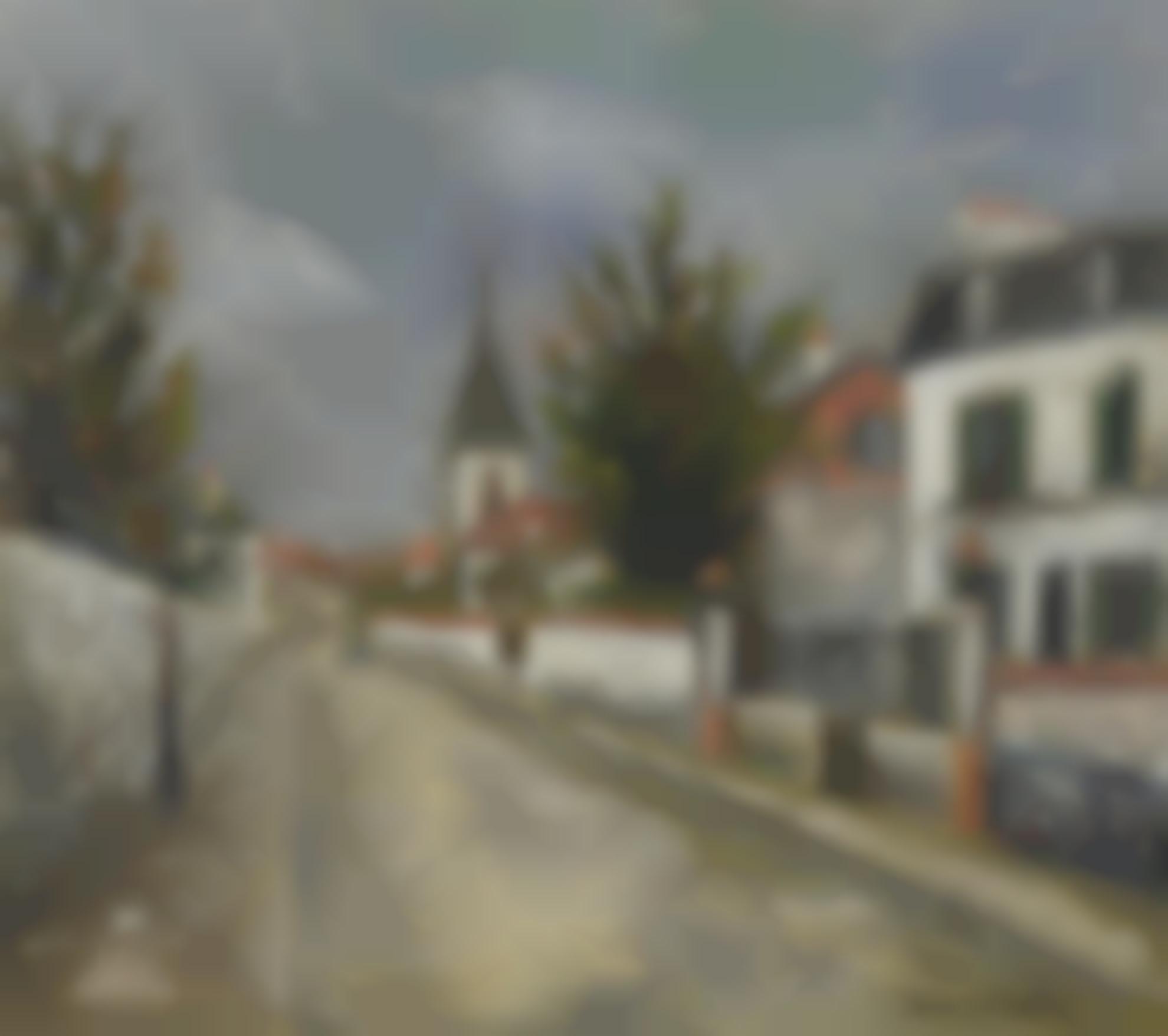Maurice Utrillo-Eglise Deaubonne (Val Doise)-