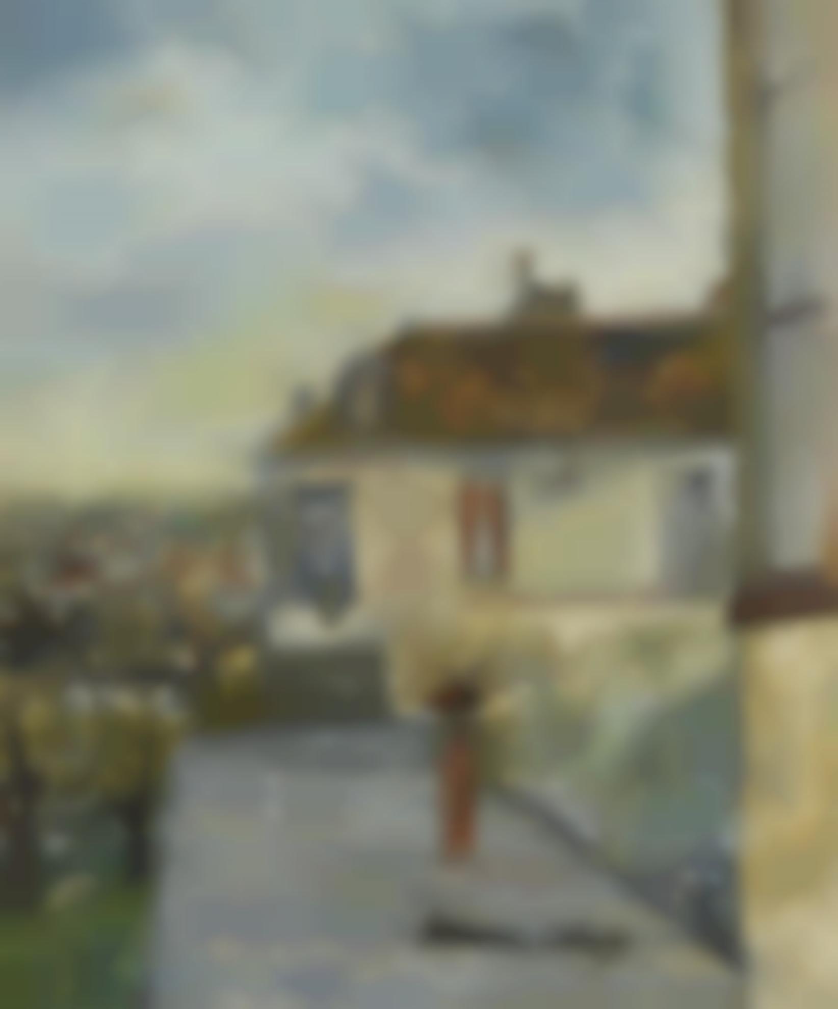 Maurice Utrillo-La Maison Chaudoin-1906