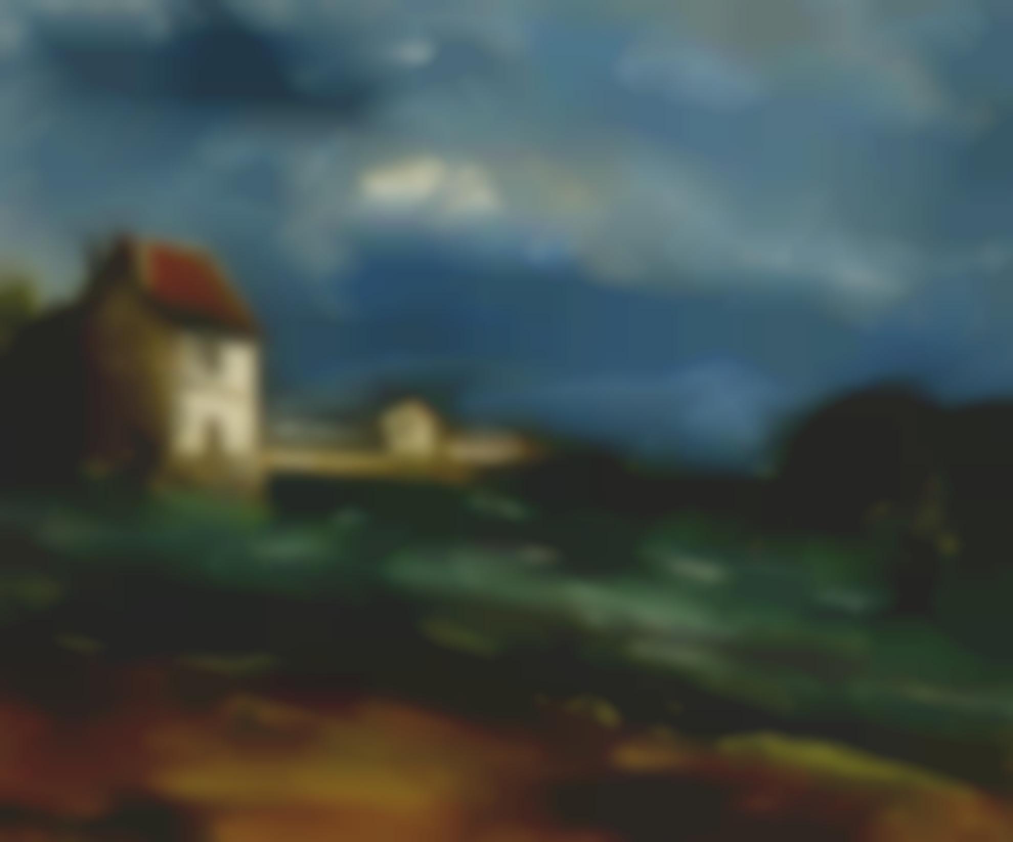 Maurice de Vlaminck-Paysage Dherouville-