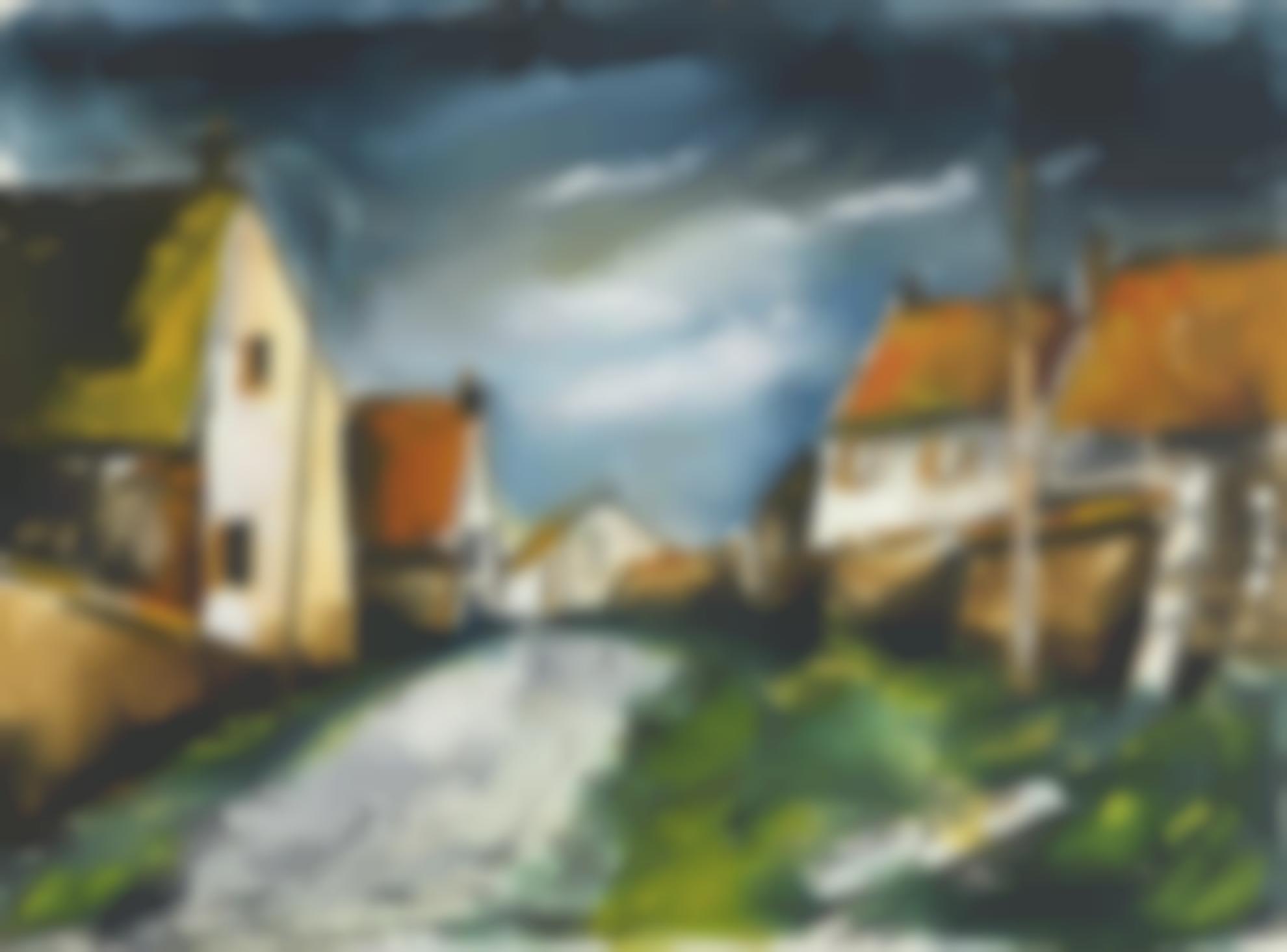 Maurice de Vlaminck-Village Dans Le Perche-