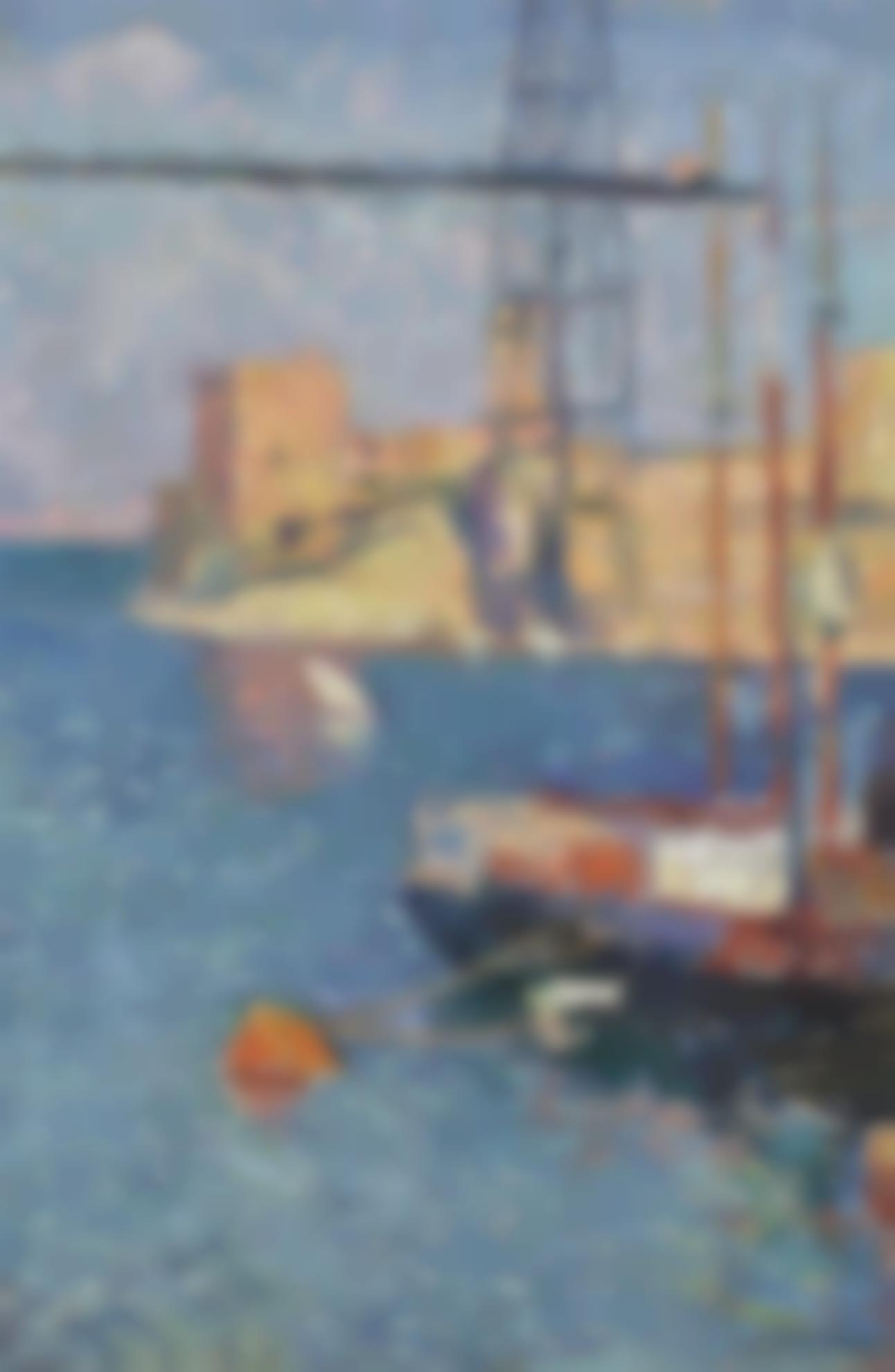 Henri Martin-Le Port Transbordeur De Marseille-