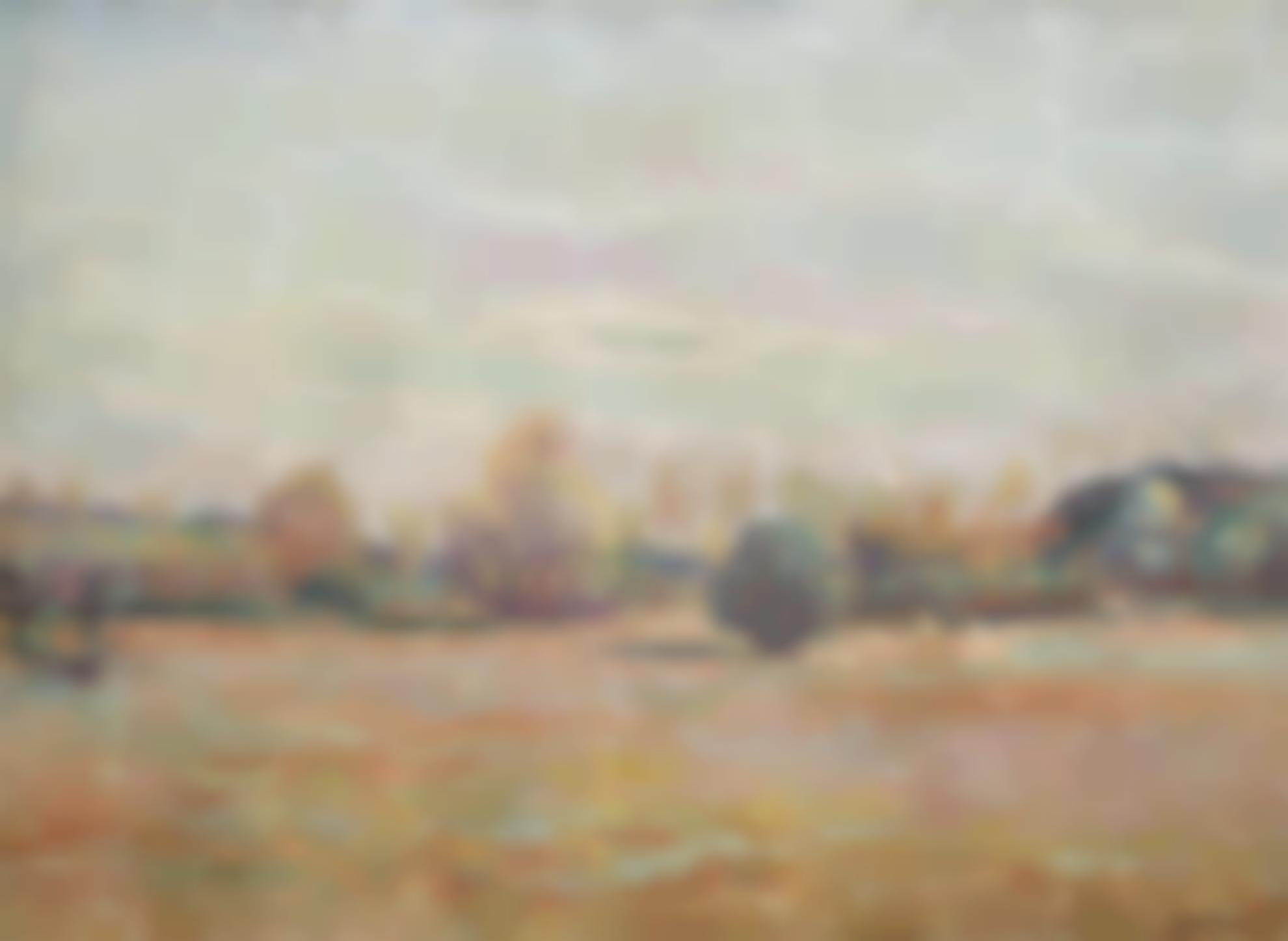 Jean-Baptiste Armand Guillaumin-Paysage-1910