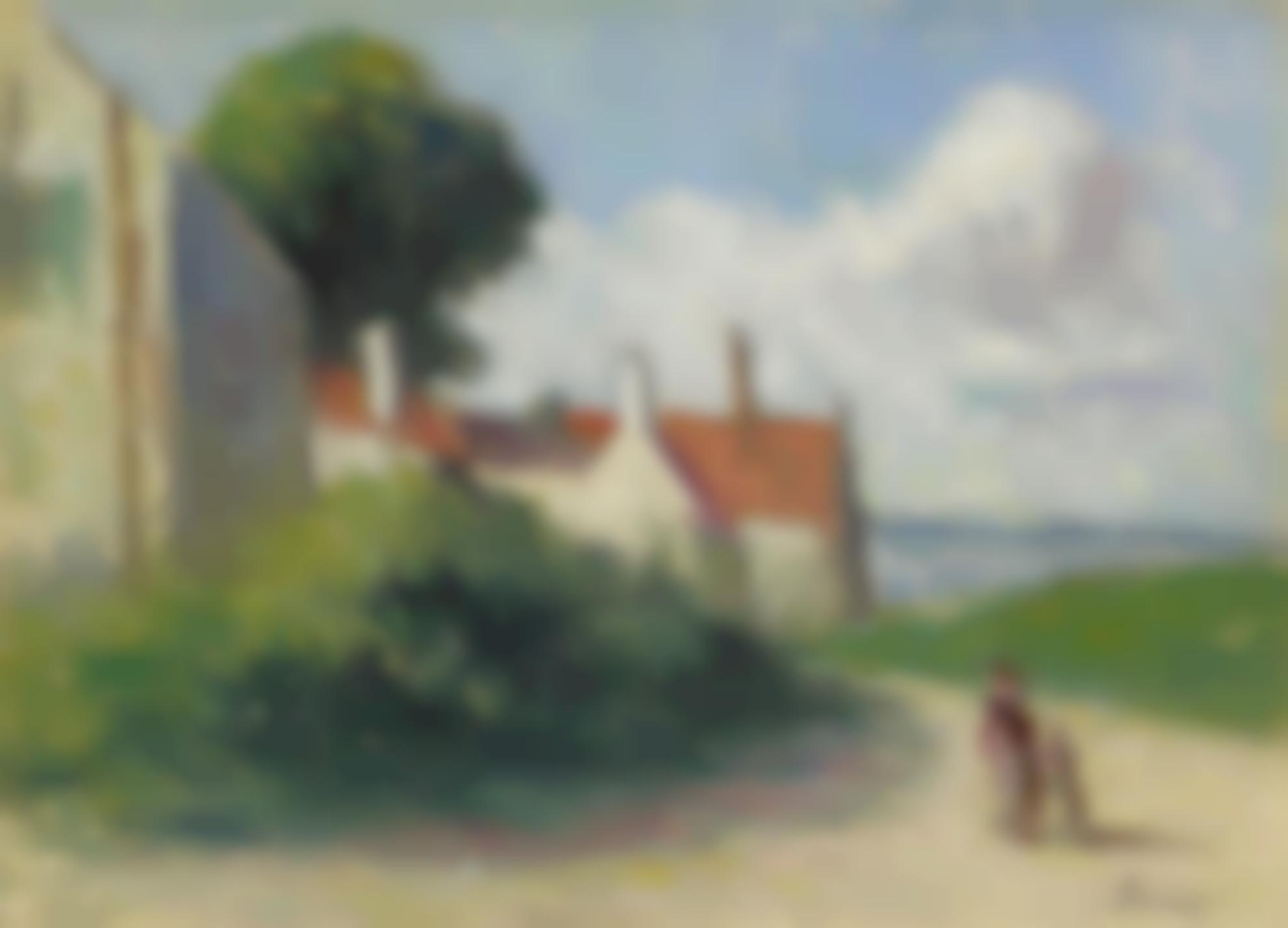 Maximilien Luce-Paysage A Asquin-Sous-Vezelay-1940