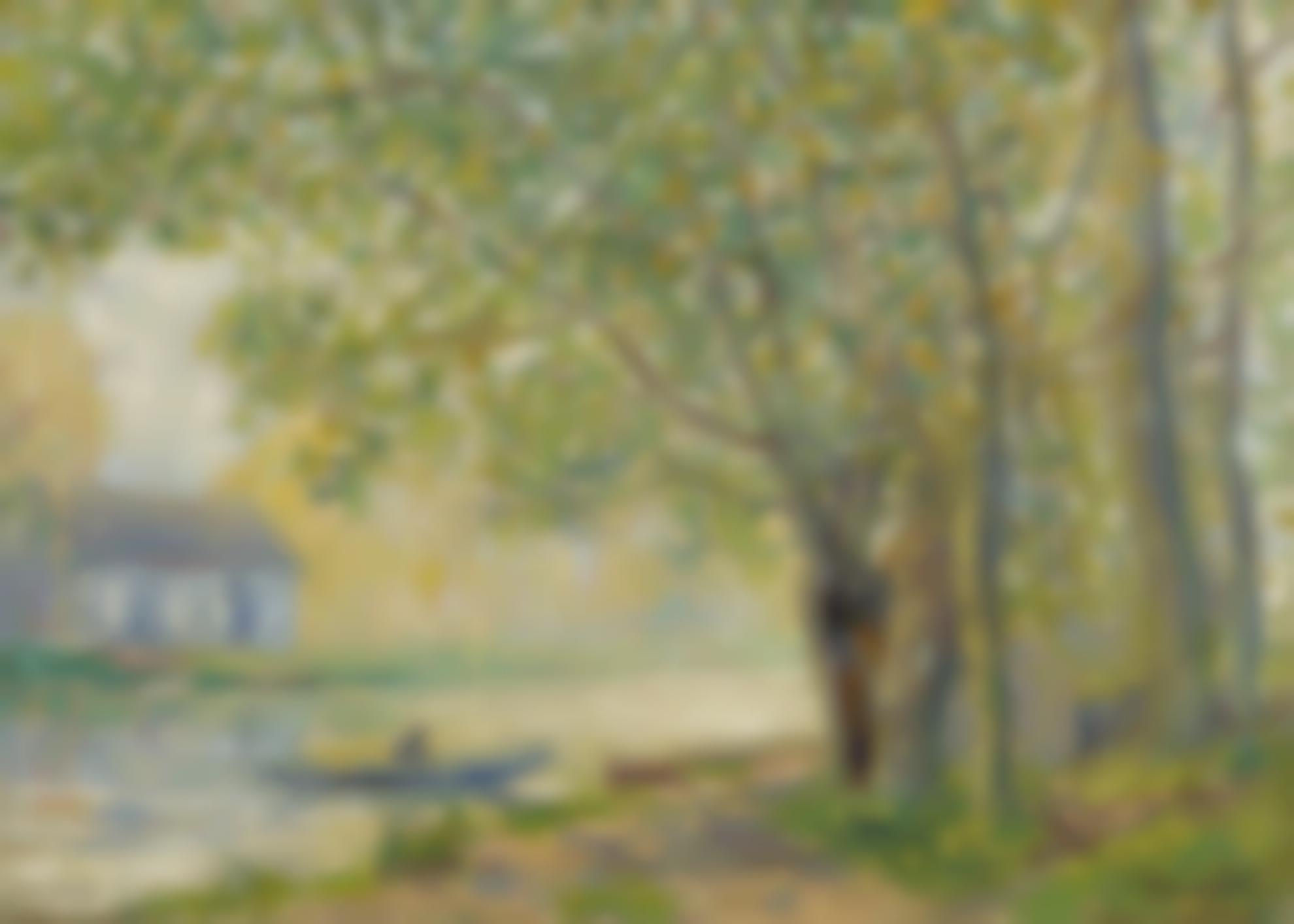 Francis Picabia-Effet De Soleil (Avril); Sur Les Bords Du Loing-1905