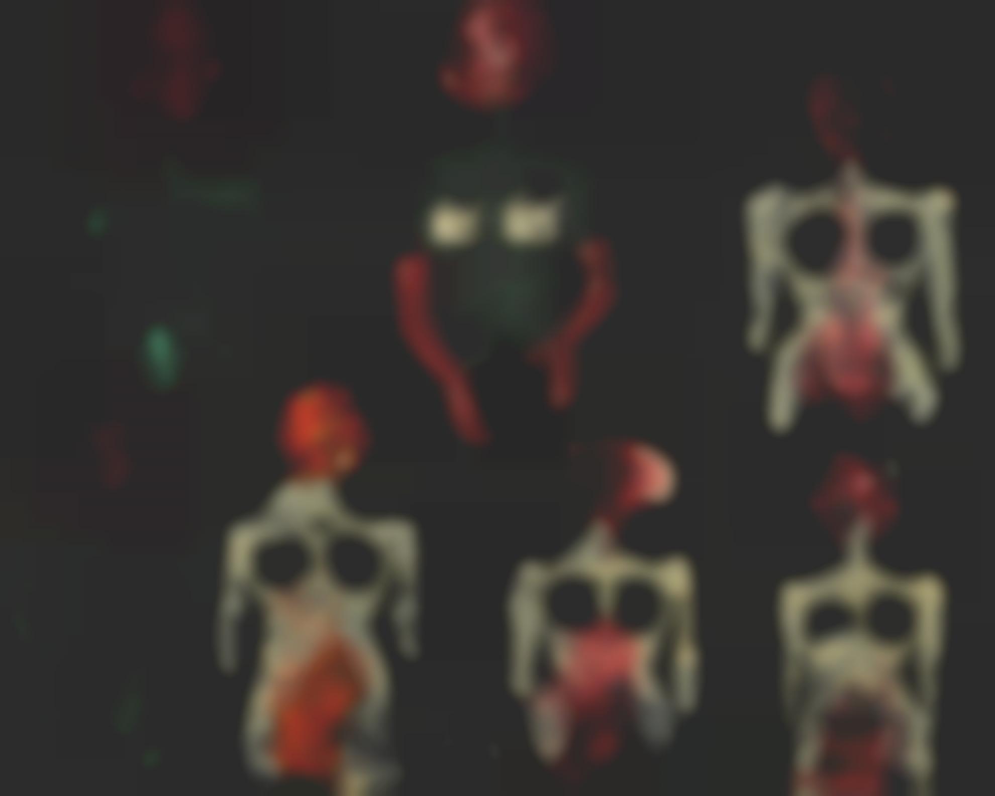 Salvador Dali-Anatomies-Serie Decalcomanie-1937