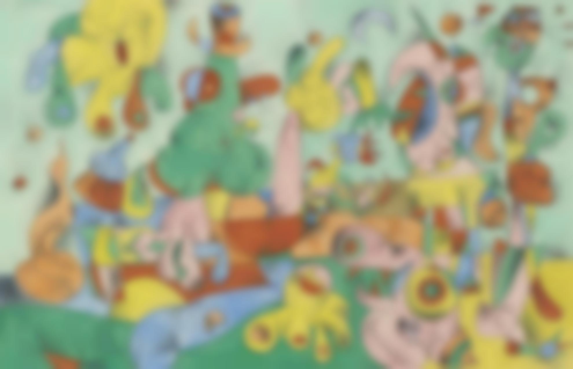Joan Miro-Le Banquet-1954