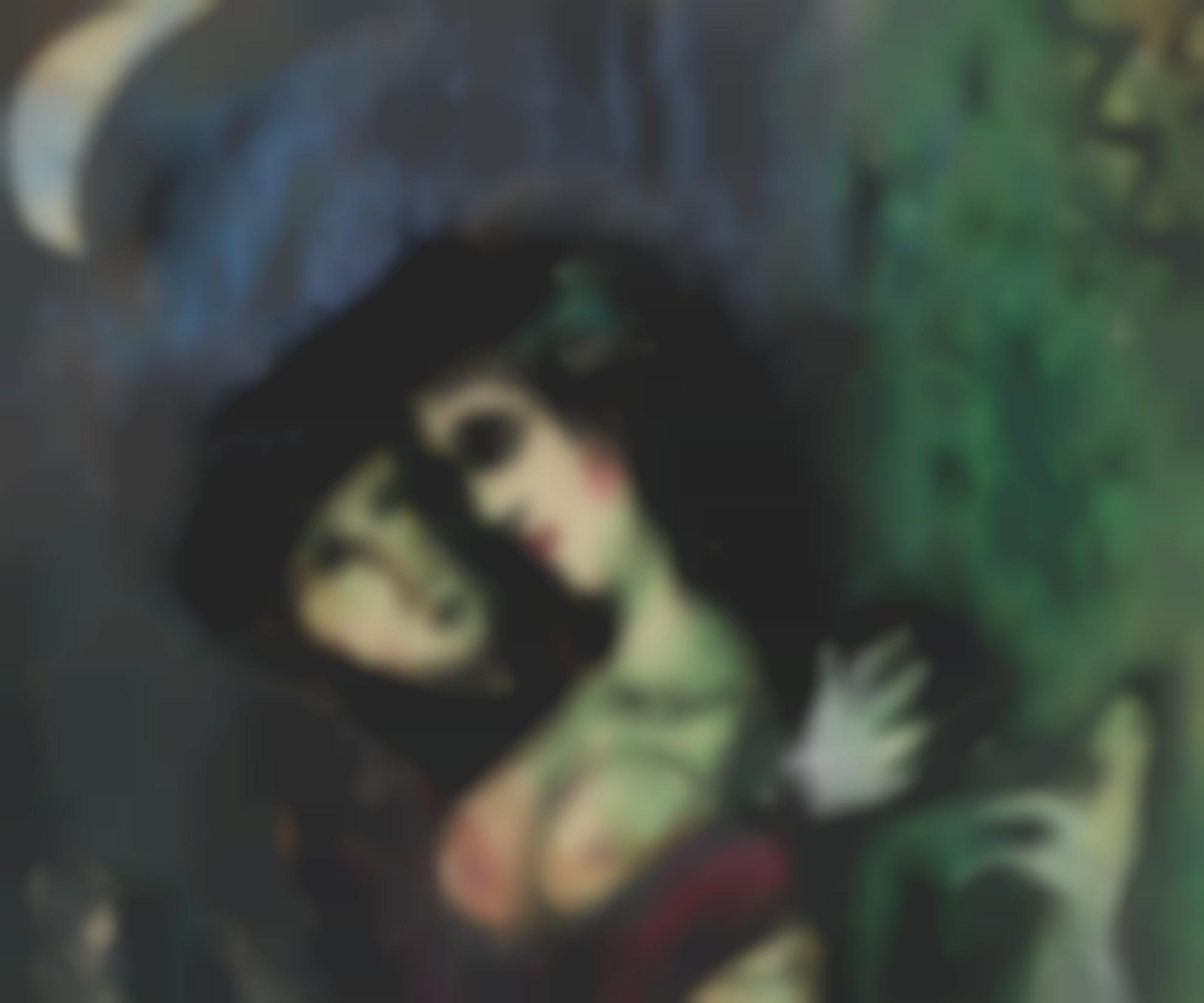 Marc Chagall-Les Amoureux Au Clair De Lune-1949