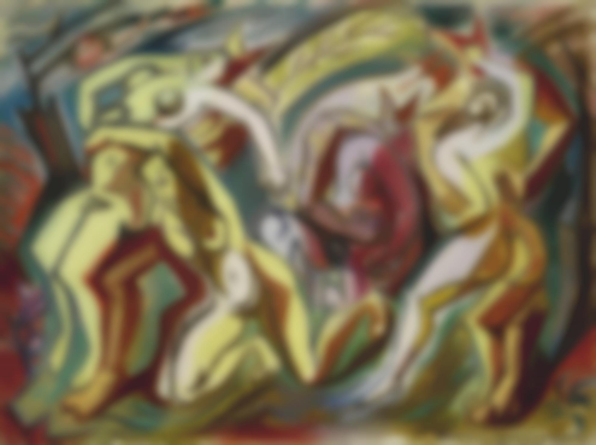Andre Masson-Enlevement-1933