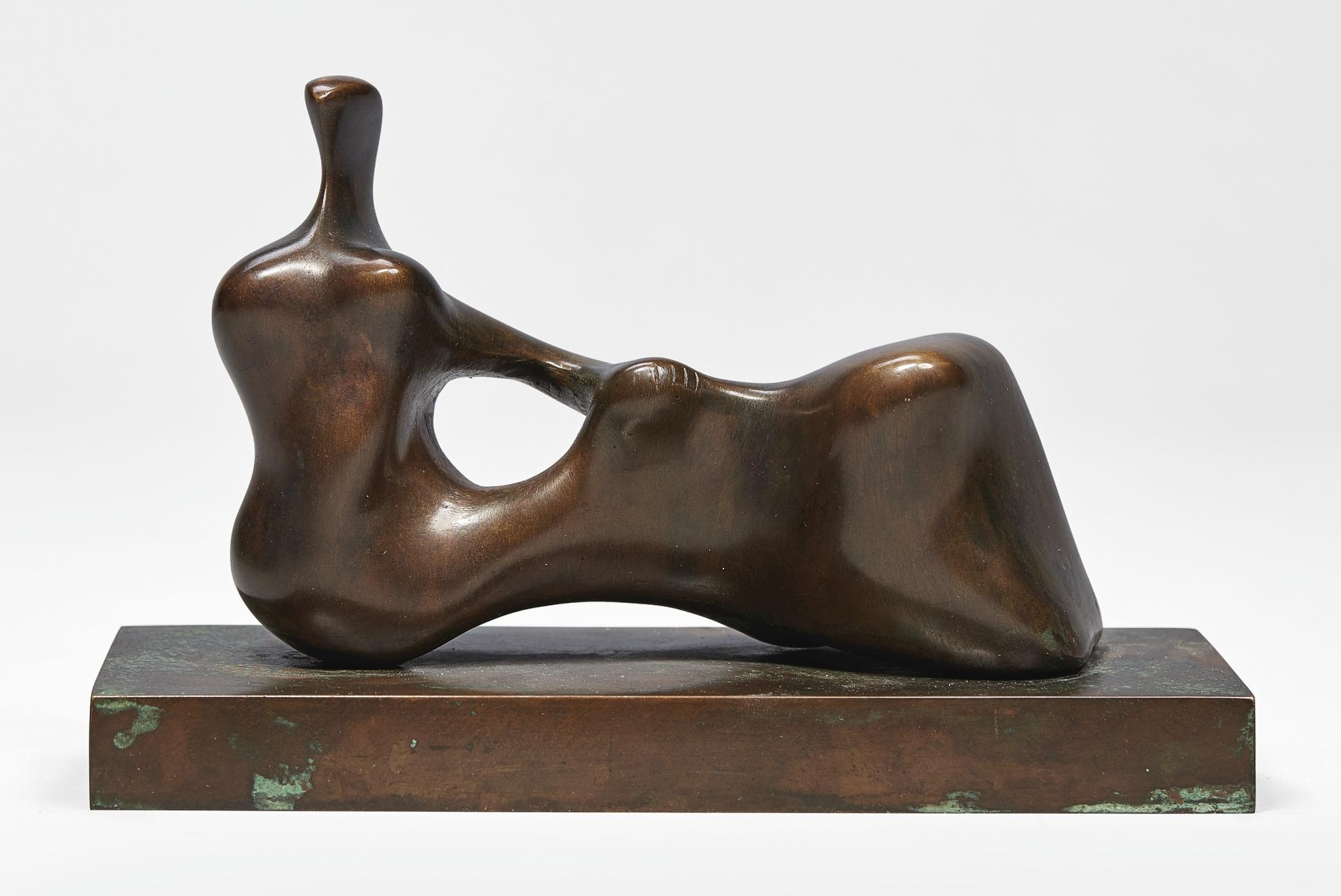 Henry Moore-Maquette For Reclining Figure: Hand-1976