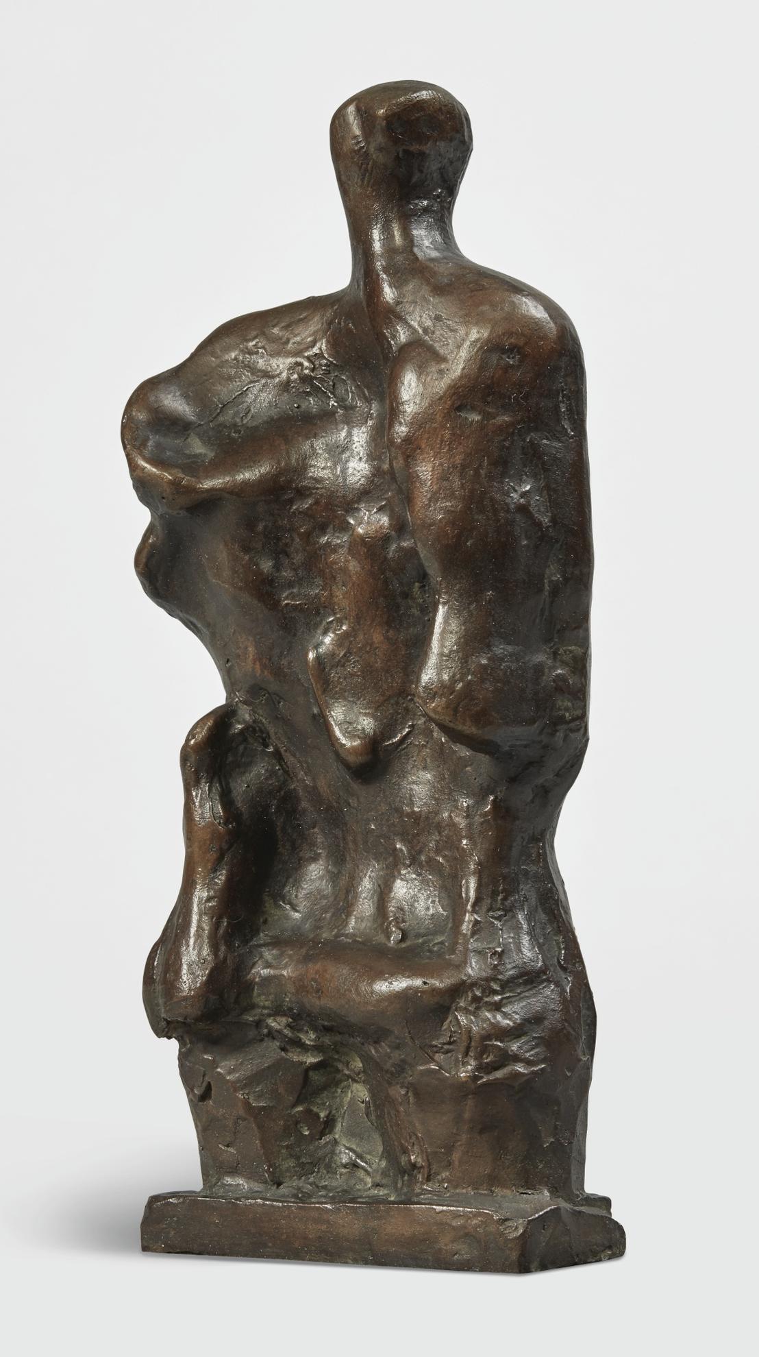 Henry Moore-Standing Figure Relief No. 2-1960