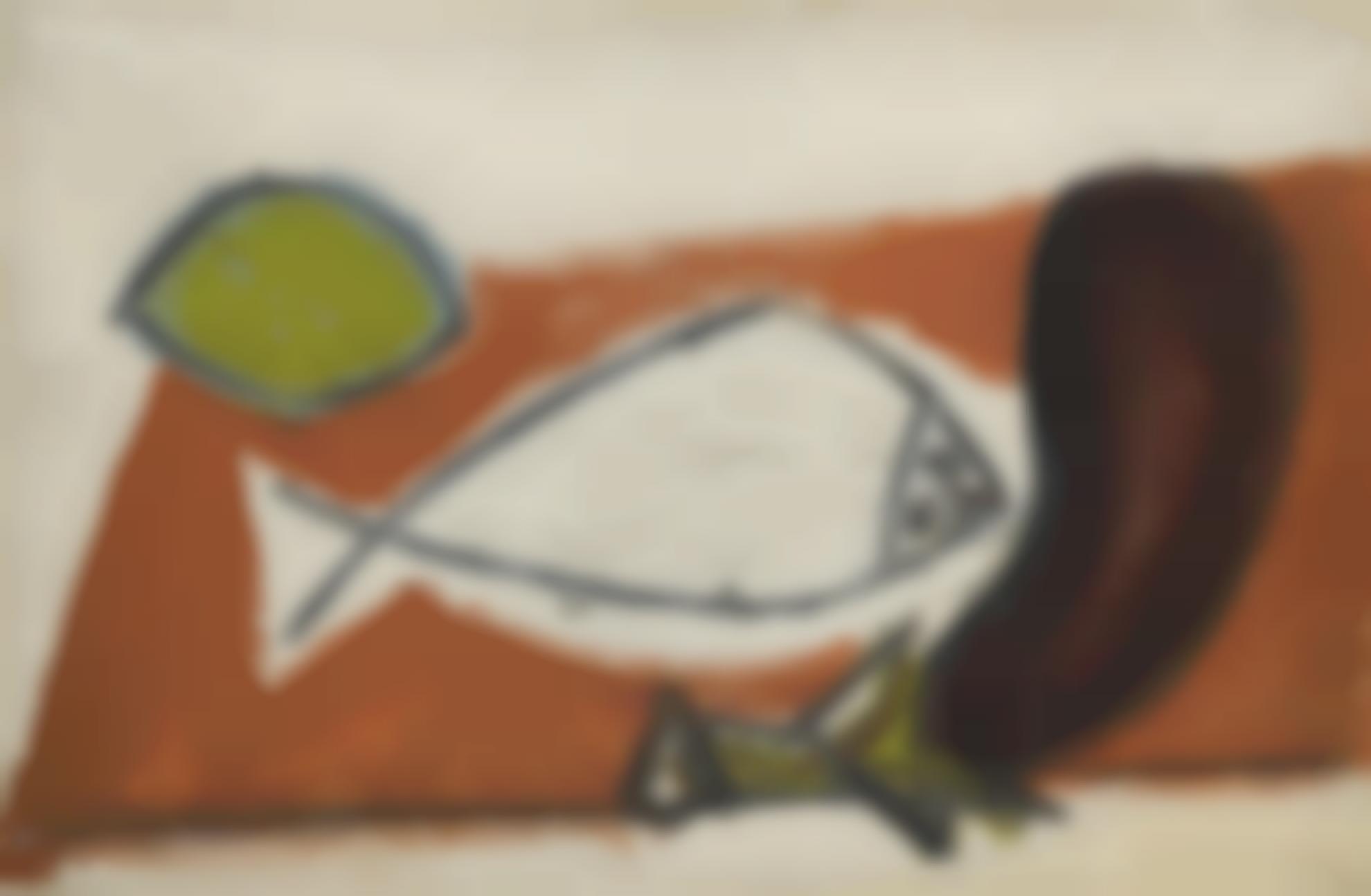 Pablo Picasso-Citron, Poisson, Aubergine-1946