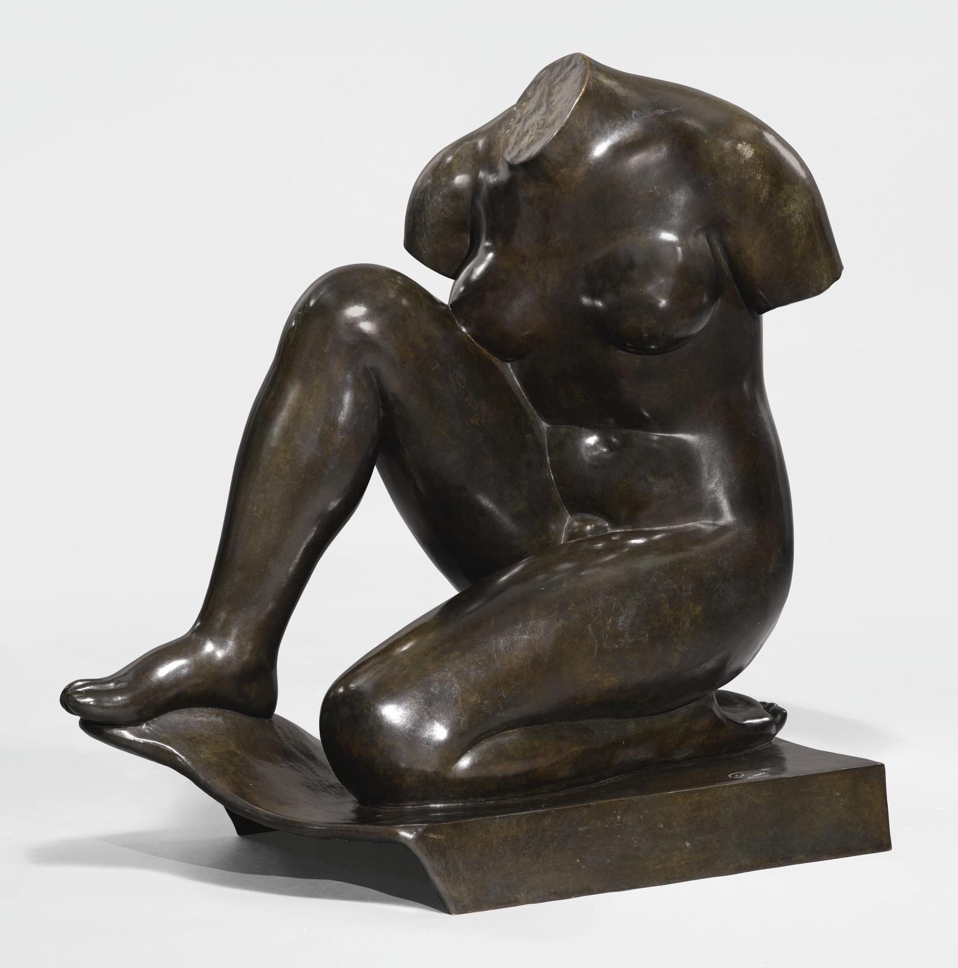 Aristide Maillol-Torse Debussy-1930