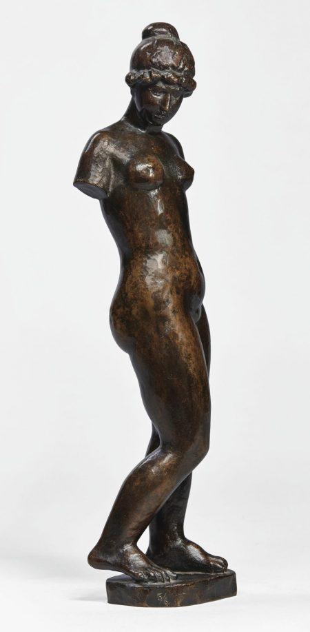Aristide Maillol-Torse De La Femme A Lecharpe-1952