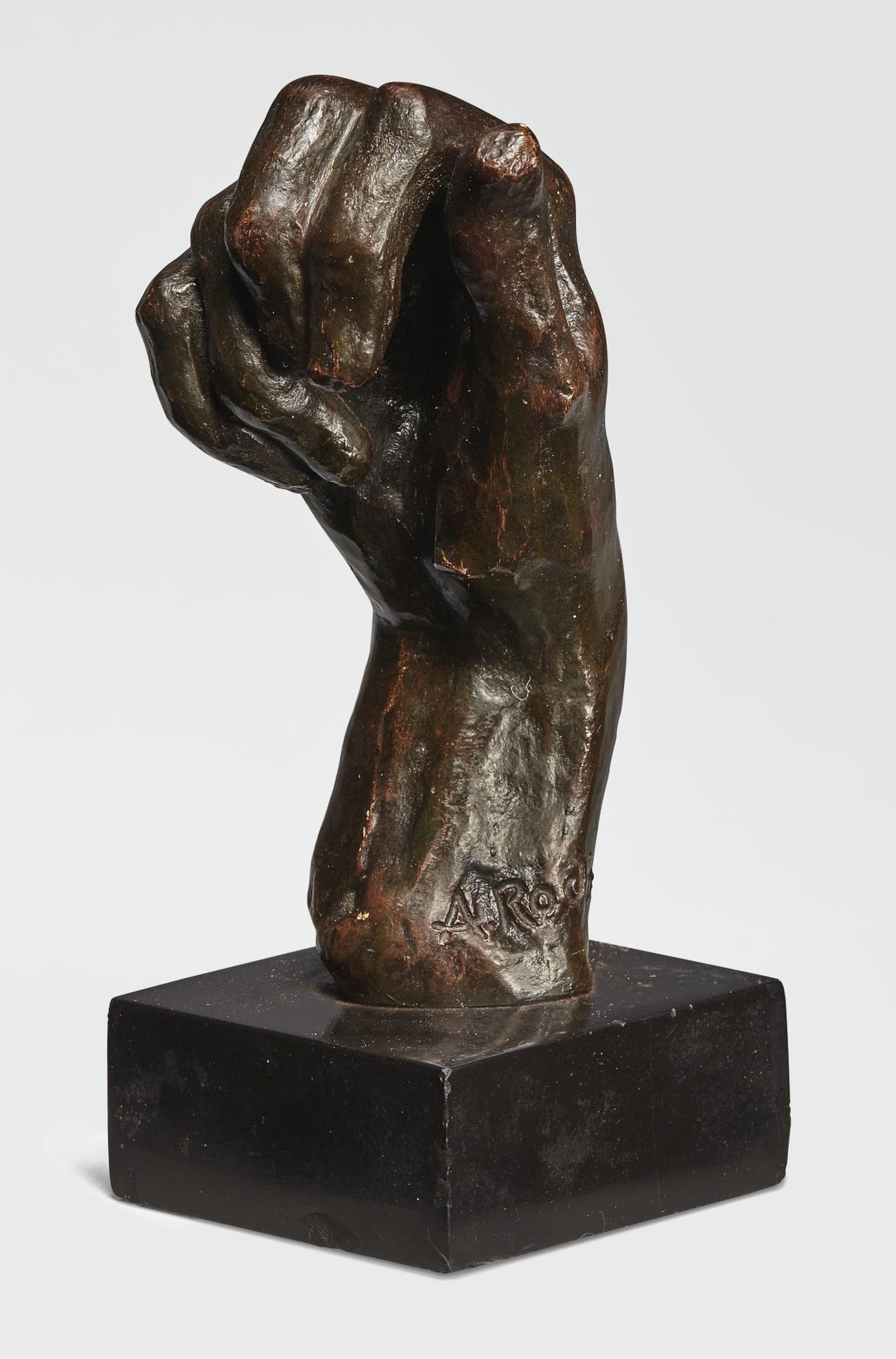 Auguste Rodin-Etude De Main Droite Dite Main No. 11-1961