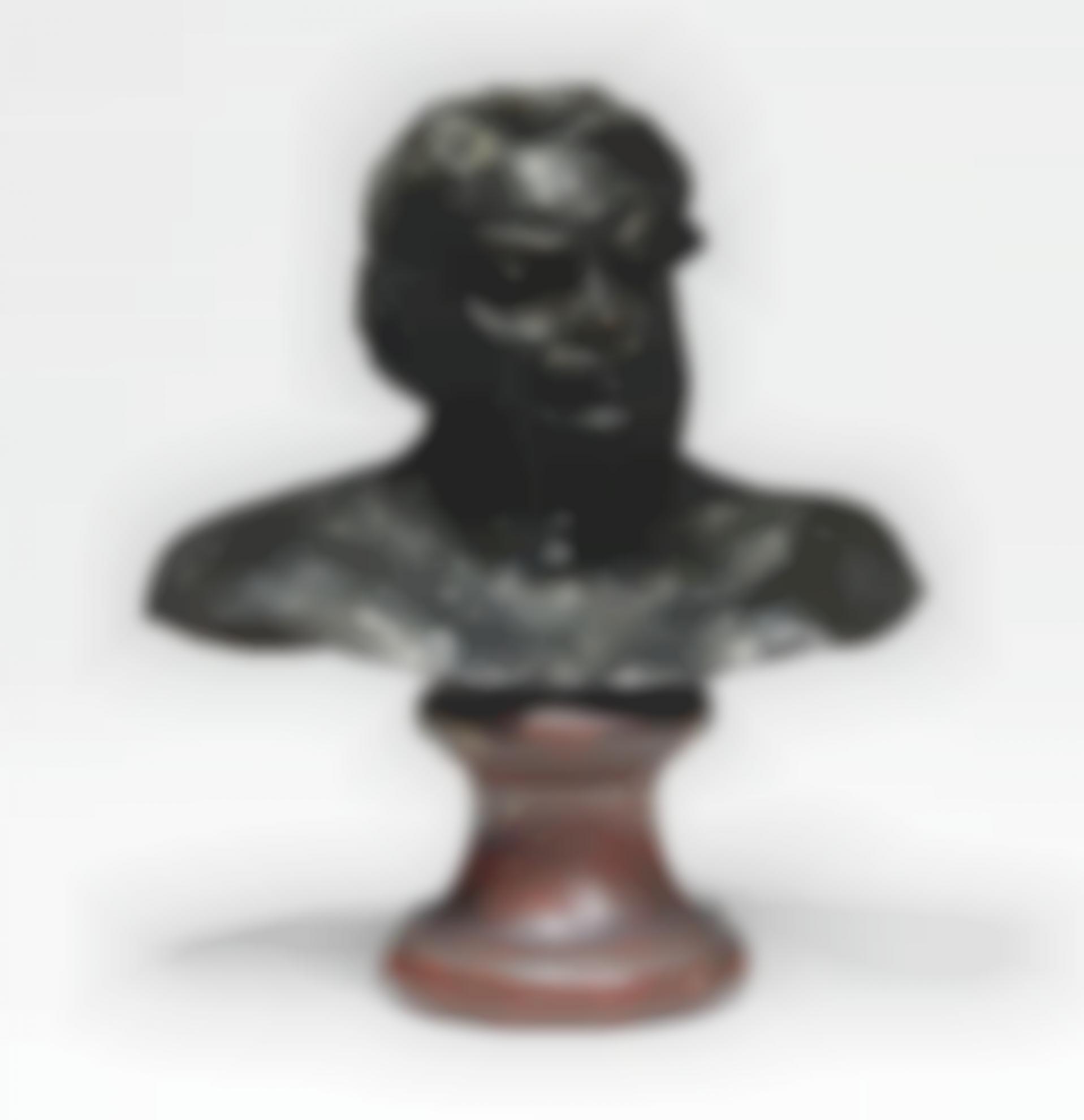 Auguste Rodin-Balzac, Etude Type C (Buste), 1Ere Version, Petit Modele-1920