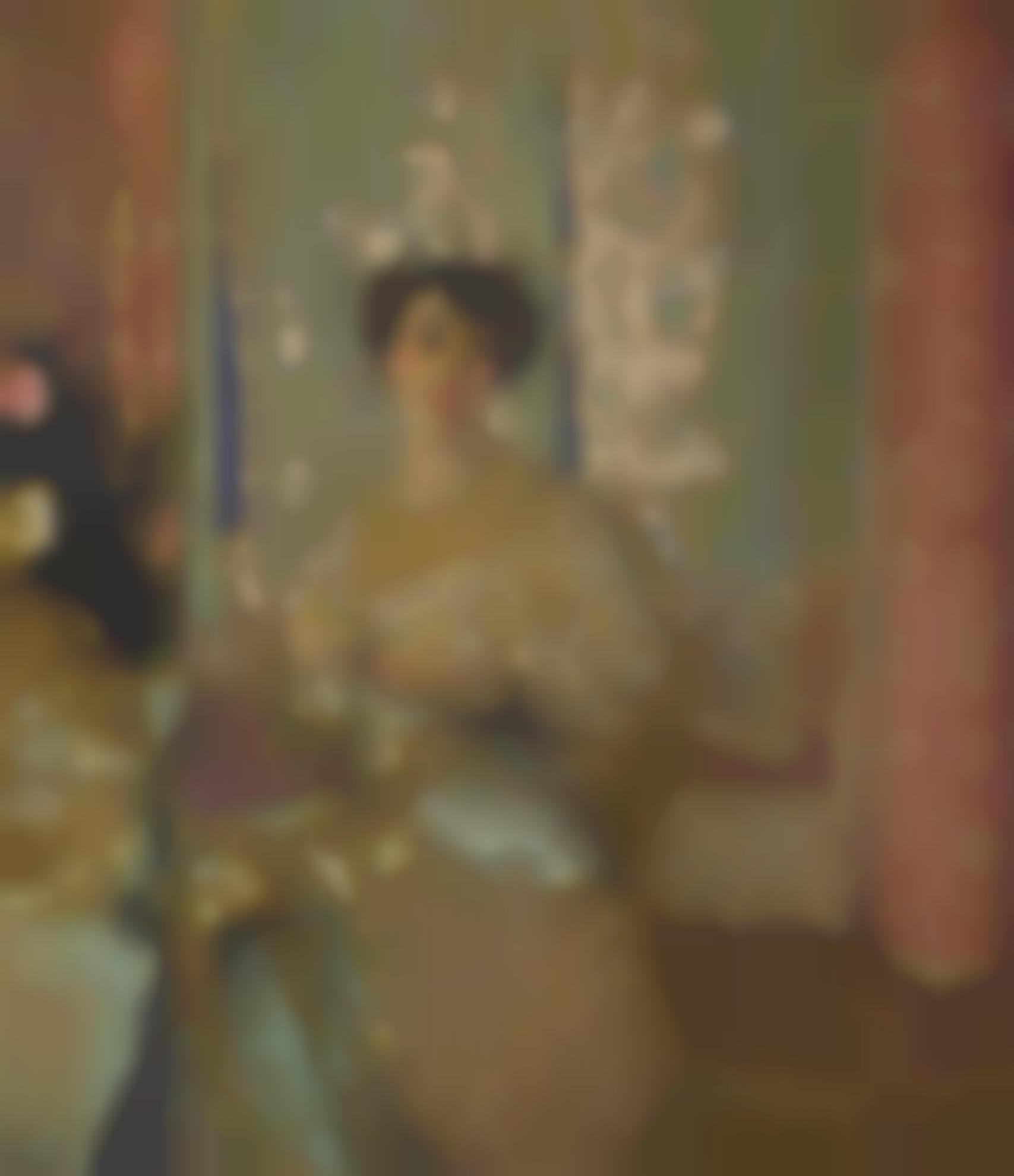 Edouard Vuillard-Portrait De Marcelle Aron-1913