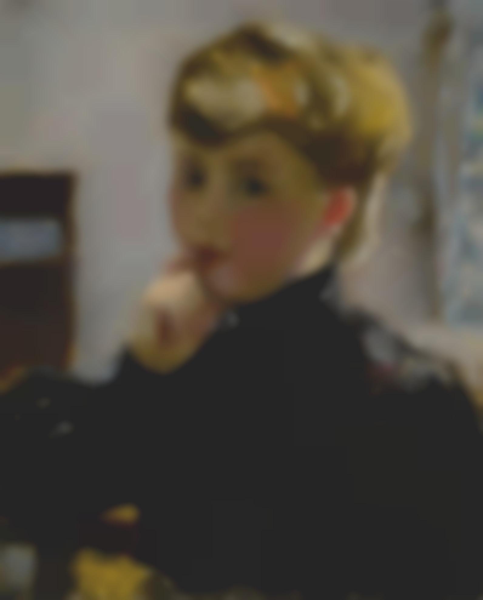 Pierre Bonnard-Portrait De Jeune Fille-1905
