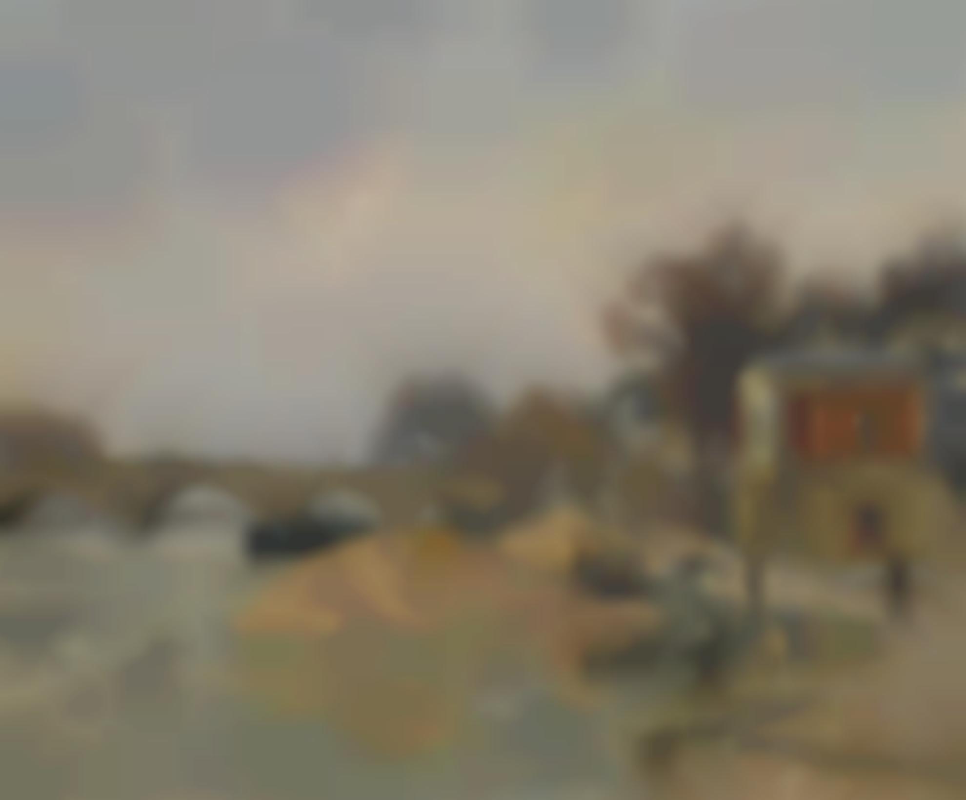 Gustave Loiseau-Le Pont Marie A Paris-1912