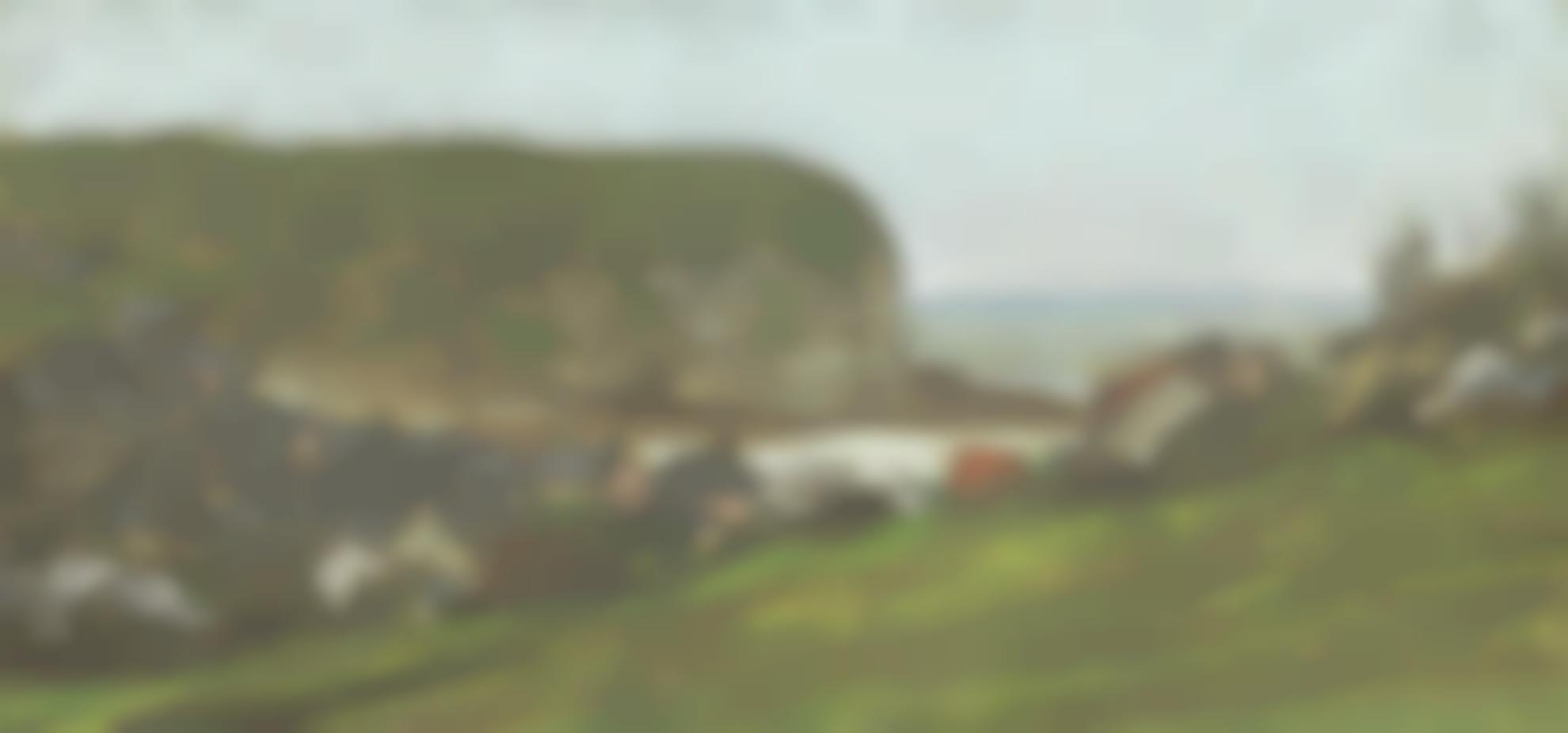Claude Monet-Yport Et Falaise Daval-1861