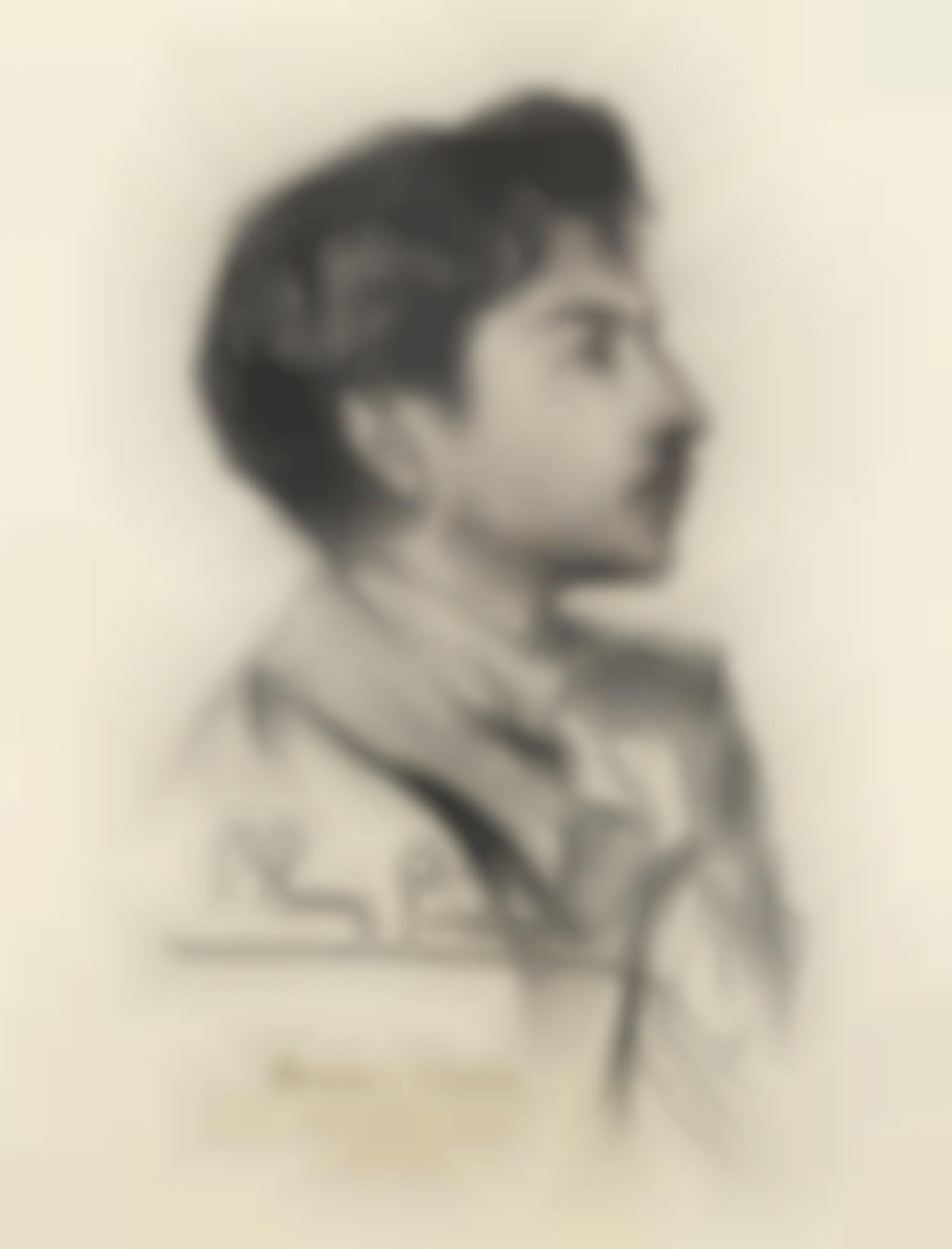 Pablo Picasso-Portrait De Hortensio Guell-1898