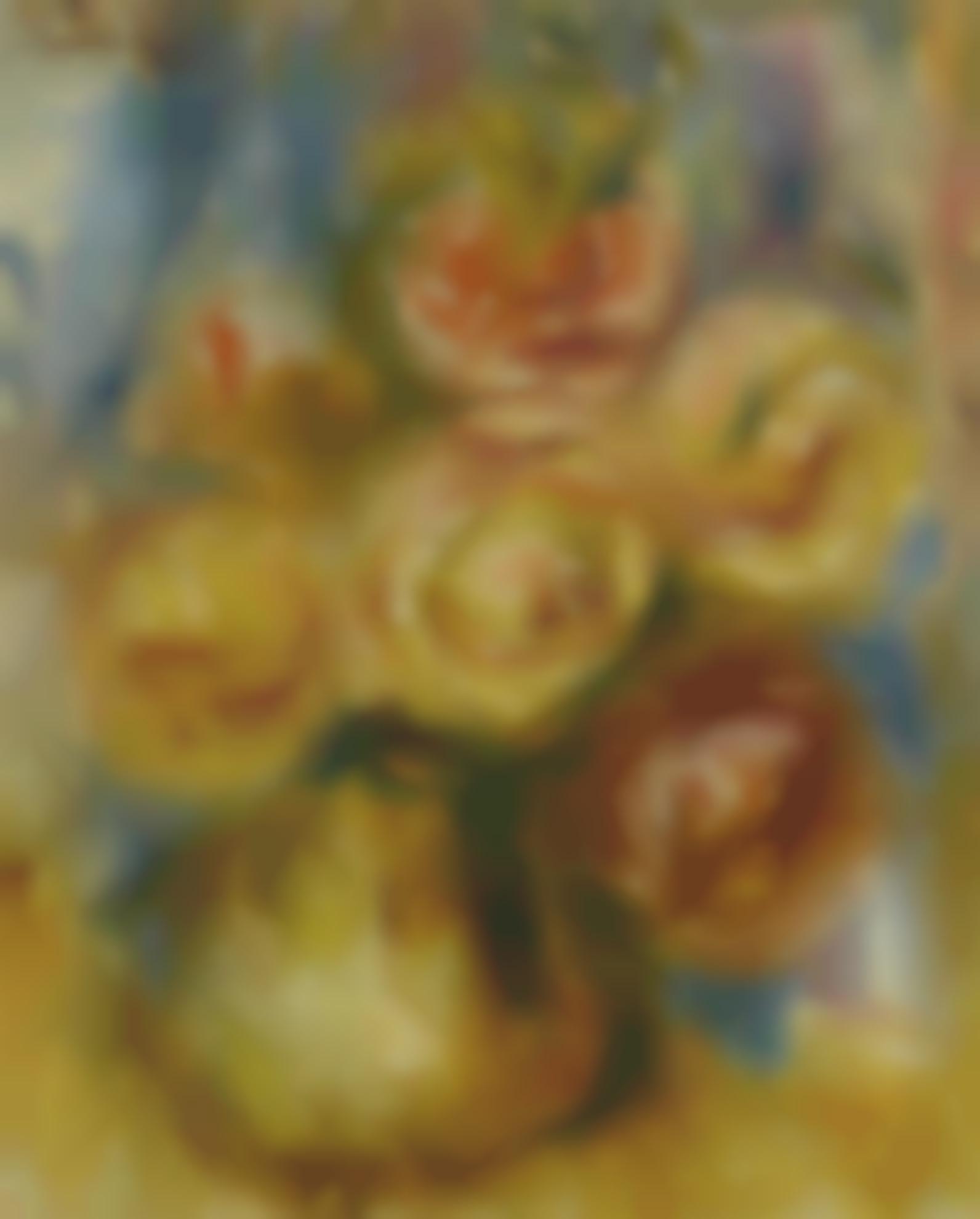 Pierre-Auguste Renoir-Roses-1919