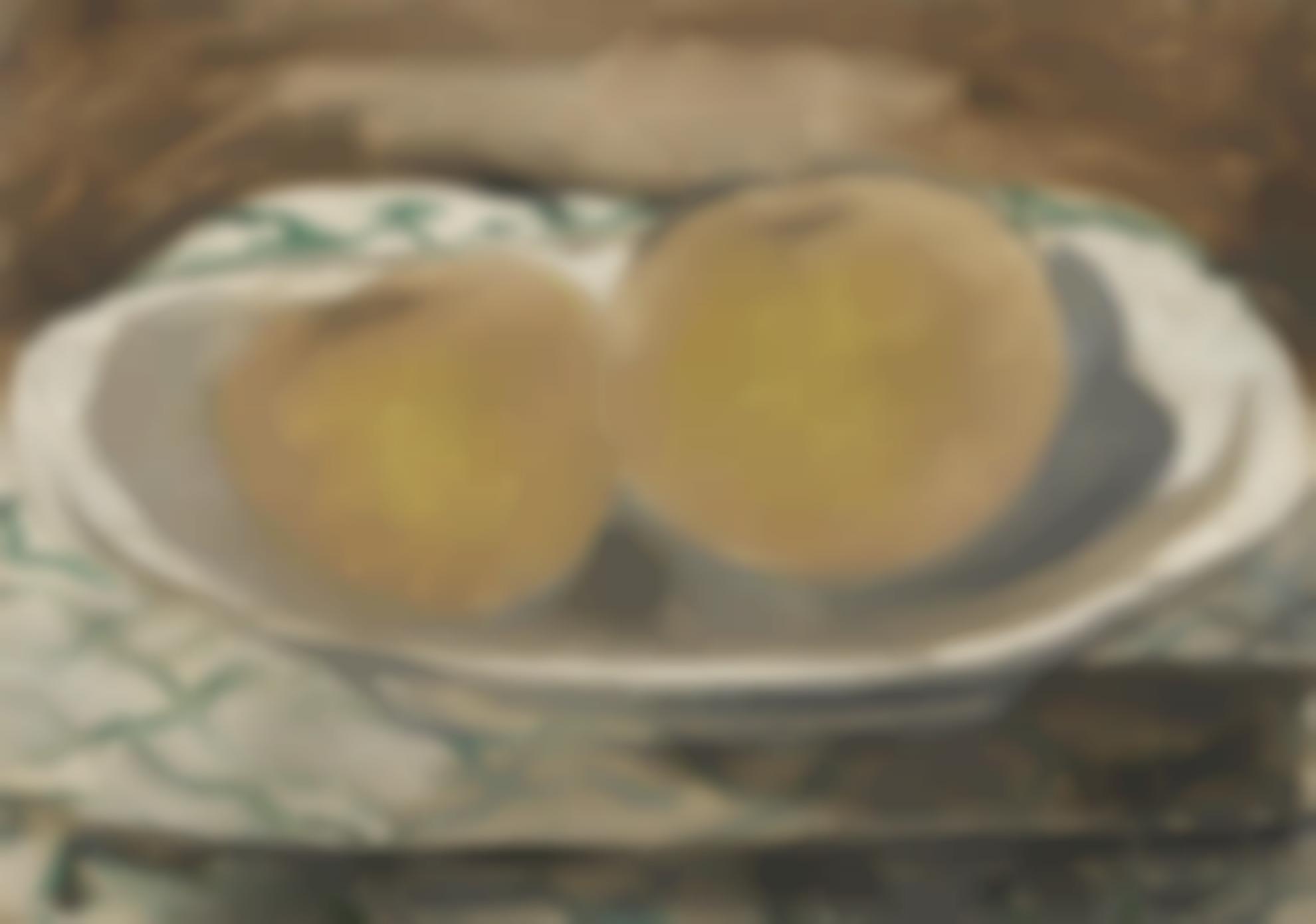 Georges Braque-Deux Pommes-1935