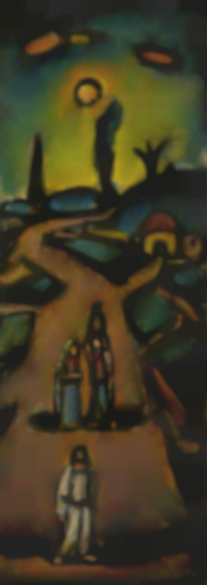 Georges Rouault-La Route (Paysage Biblique)-1947