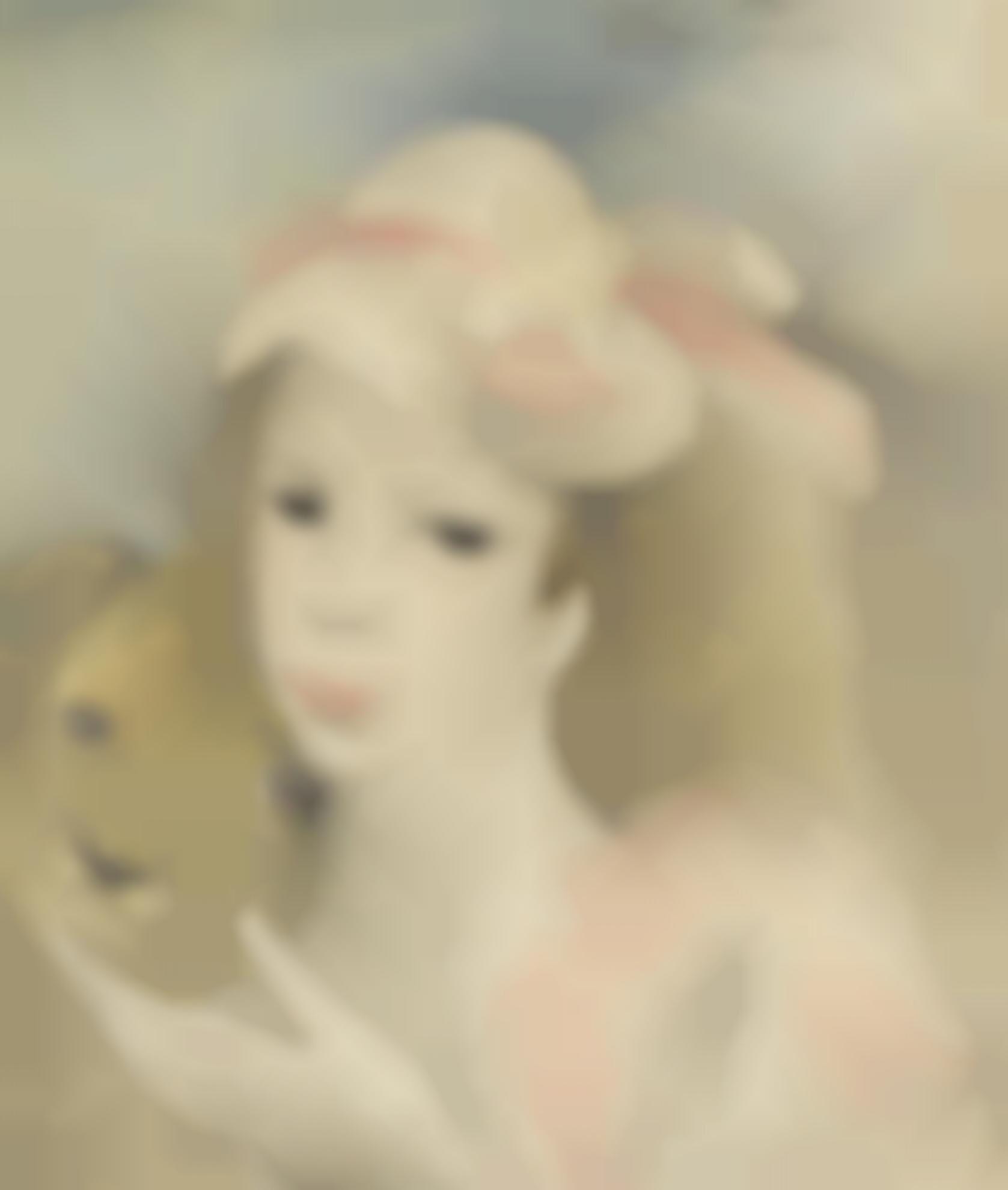 Marie Laurencin-Jeune Fille Avec Lion-