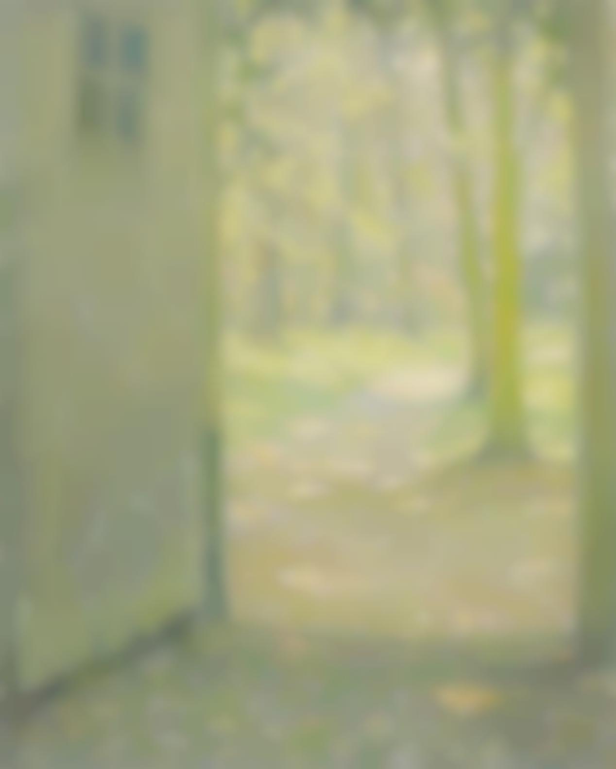 Henri Eugene Le Sidaner-Petite Porte De Trianon-1926