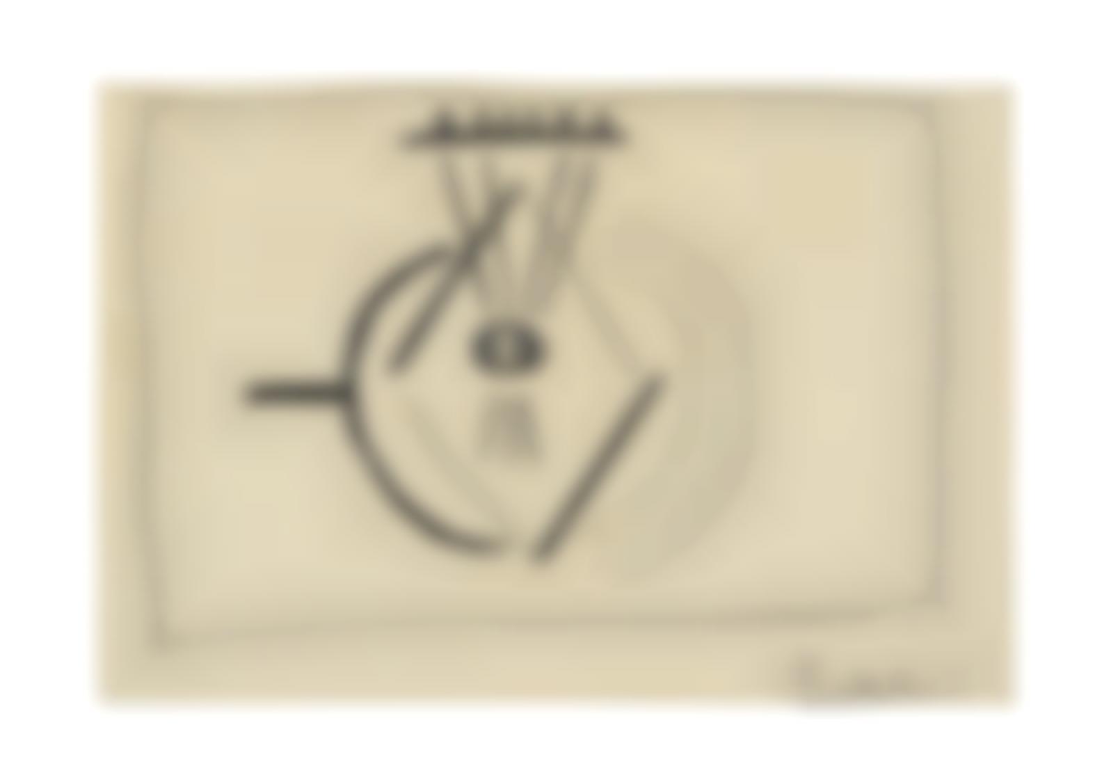 Pablo Picasso-Etude (Mandoline)-1925