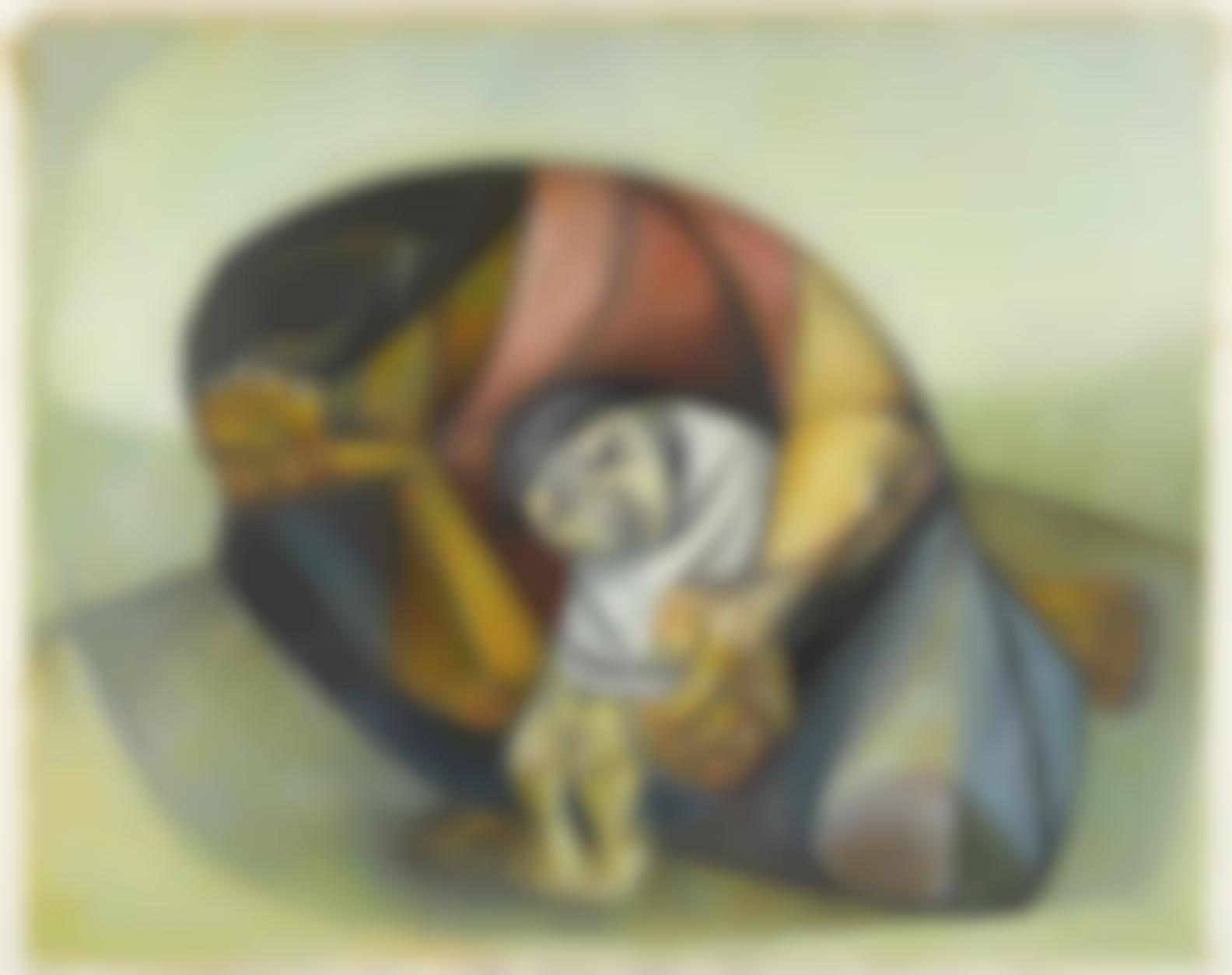 Eduardo Kingman-El Nino Enfermo-1955