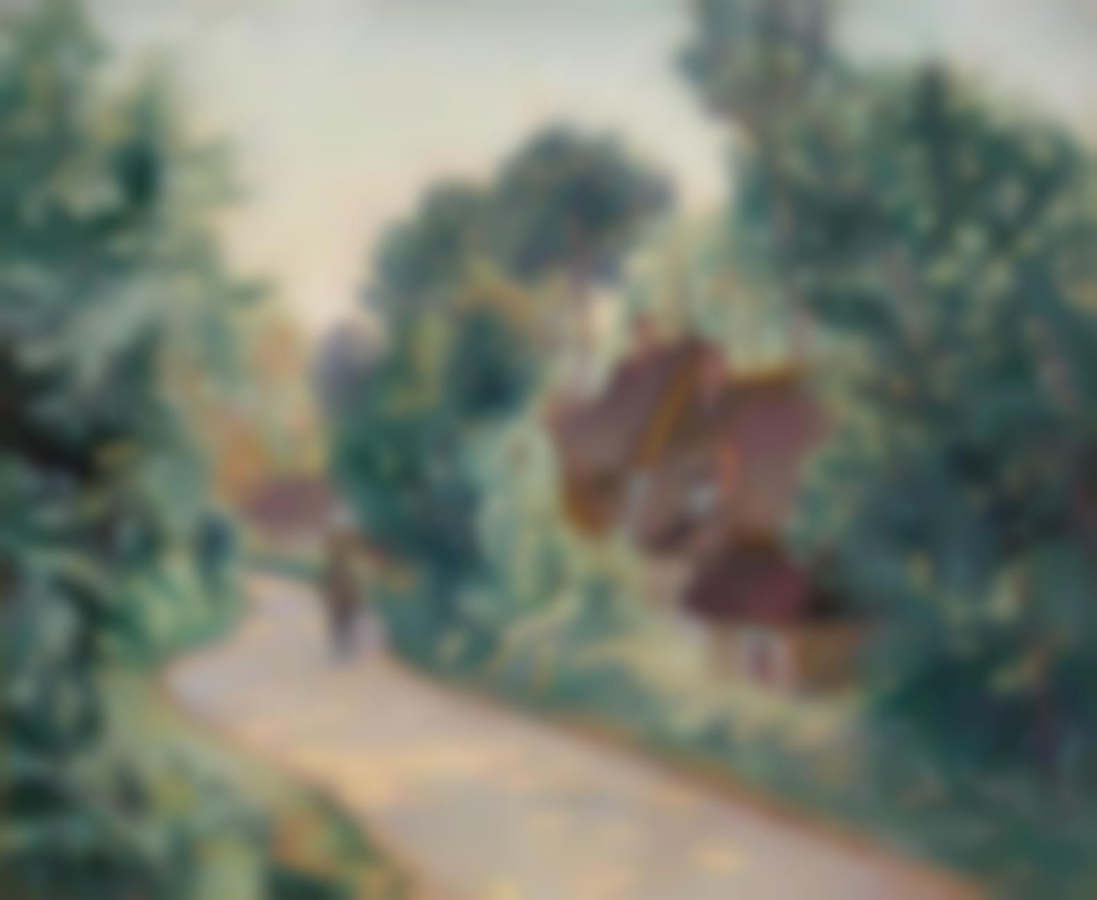 Jean-Baptiste Armand Guillaumin-La Route Des Chintres A Jouy-1900