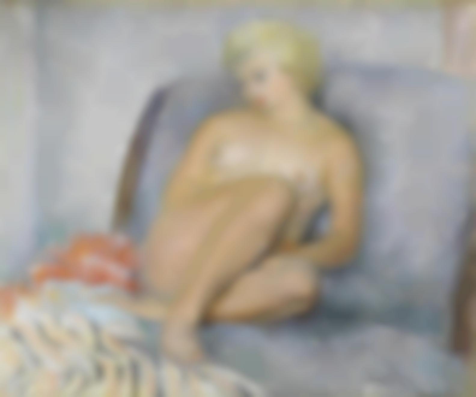 Henri Lebasque-Nu Assis-1935