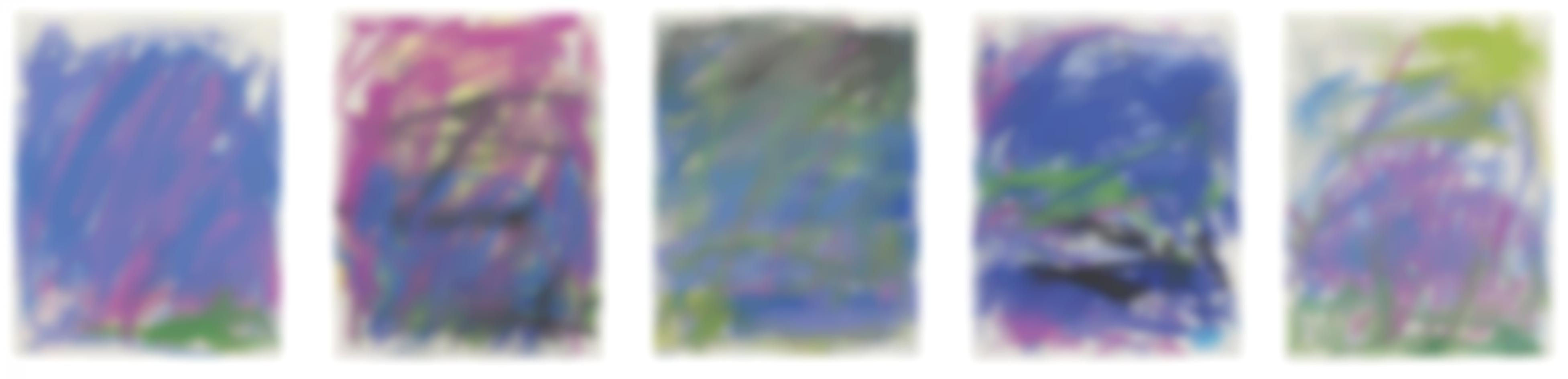 Joan Mitchell-Untitled; Untitled; Untitled; Untitled; Untitled-1983