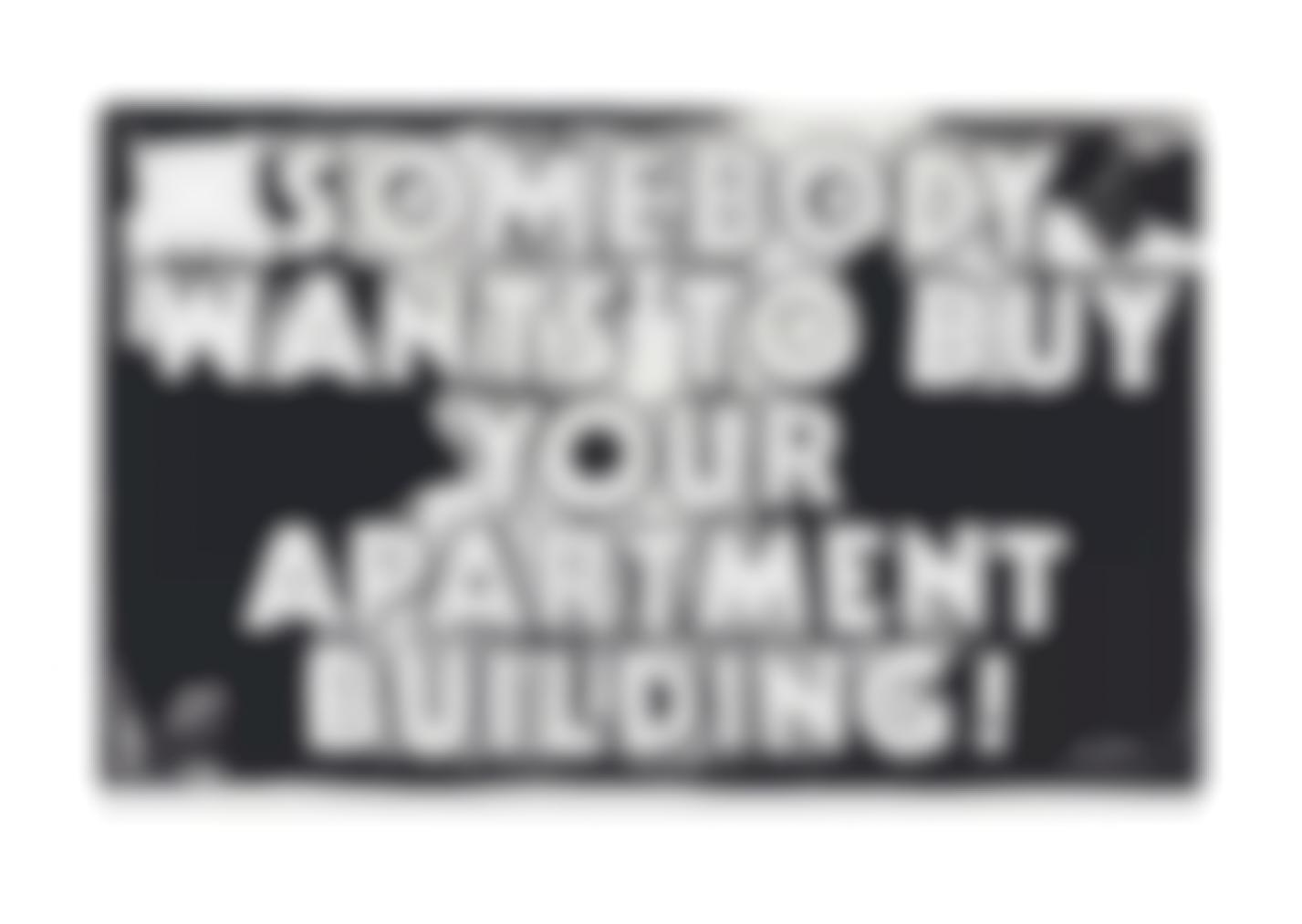 Andy Warhol-Somebody Wants To Buy Your Apartment Building-1985