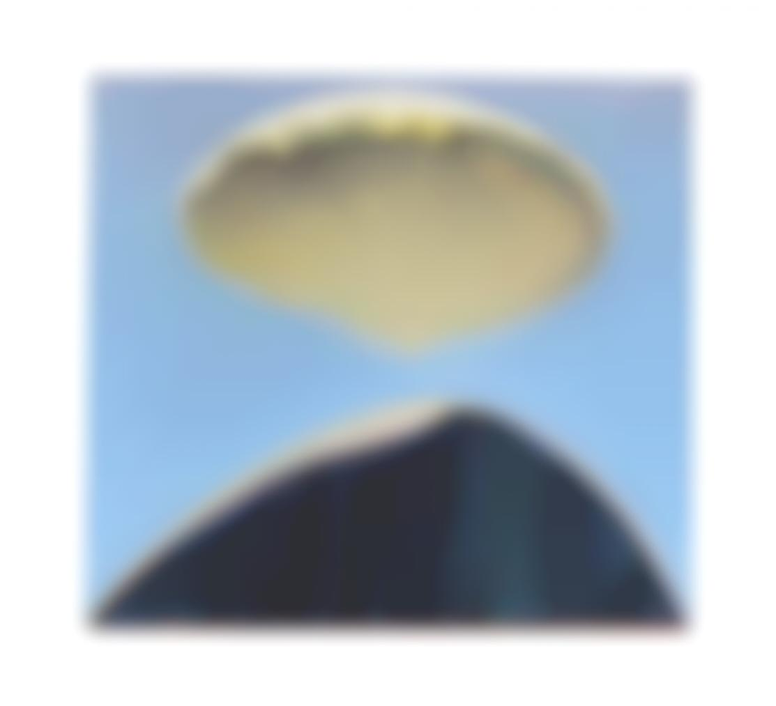 Wayne Thiebaud-Mound And Cloud-1972