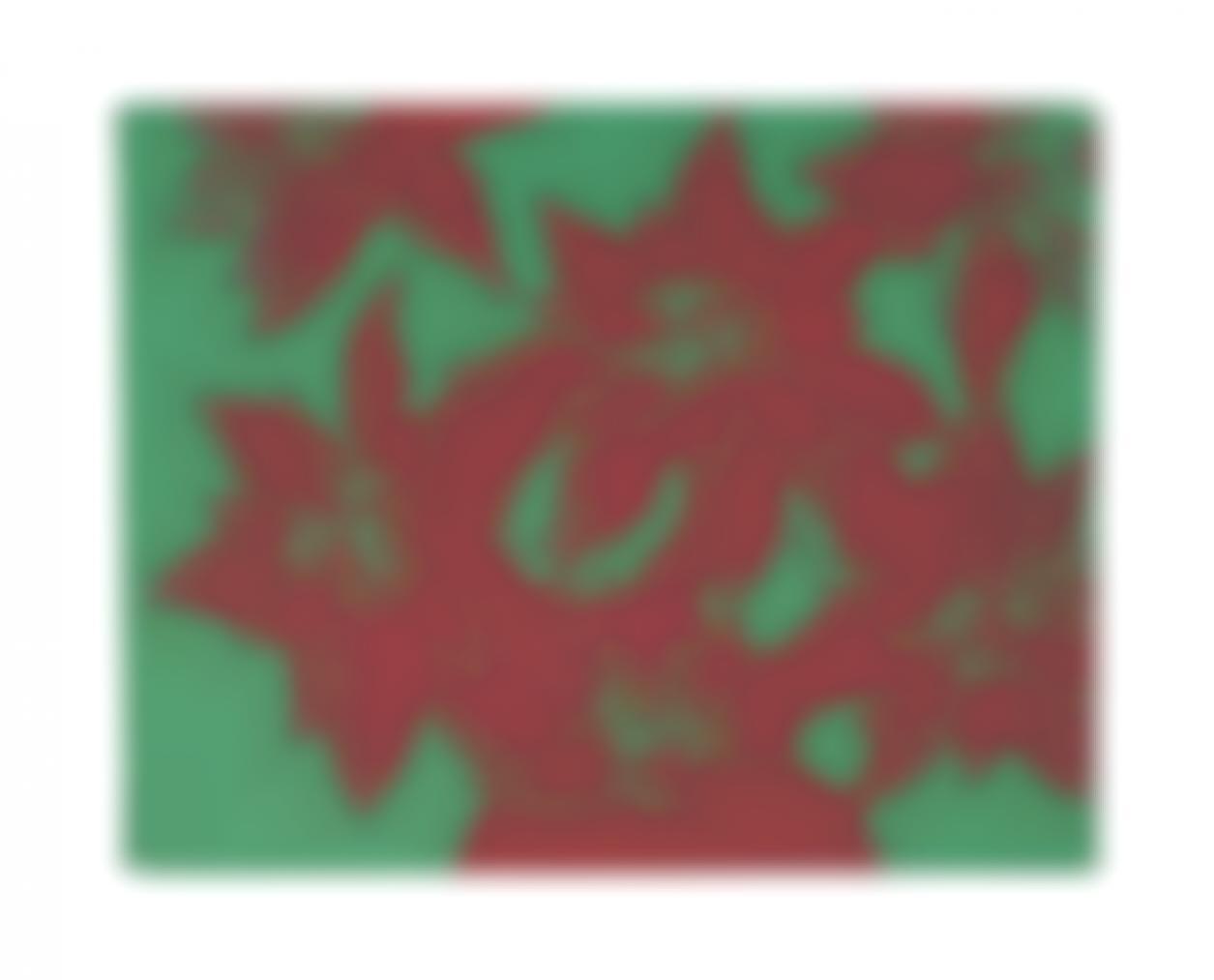 Andy Warhol-Poinsettia-1982