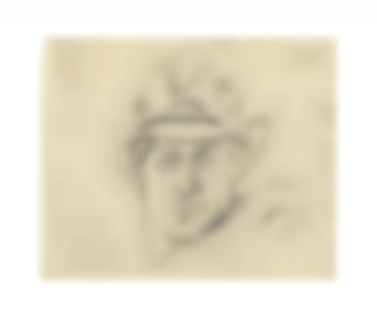 Larry Rivers-De Kooning With My Texas Hat-1963