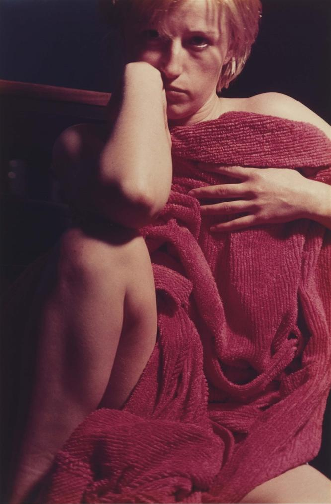 Cindy Sherman-Untitled (Red Robe) #97-1982