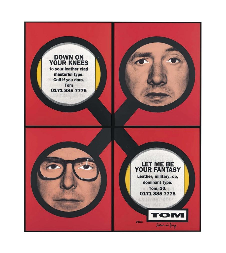 Gilbert and George-Tom-2001