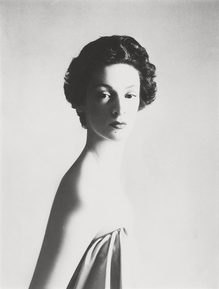 Richard Avedon-Marella Agnelli, New York, December 1953-1953
