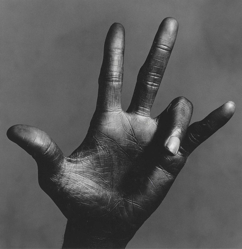 Irving Penn-The Hand Of Miles Davis (C), New York, 1986-1986