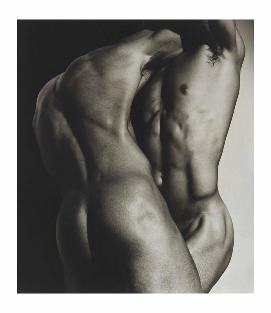 Herb Ritts-Wrestling Torsos, Hollywood, 1987-1987